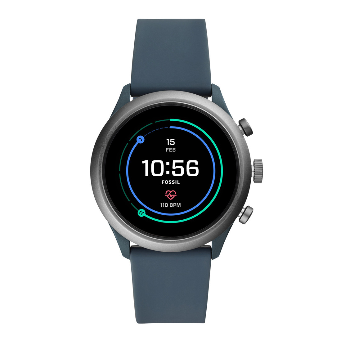 Smartwatch Fossil - Sport Ftw4021 Grey imagine