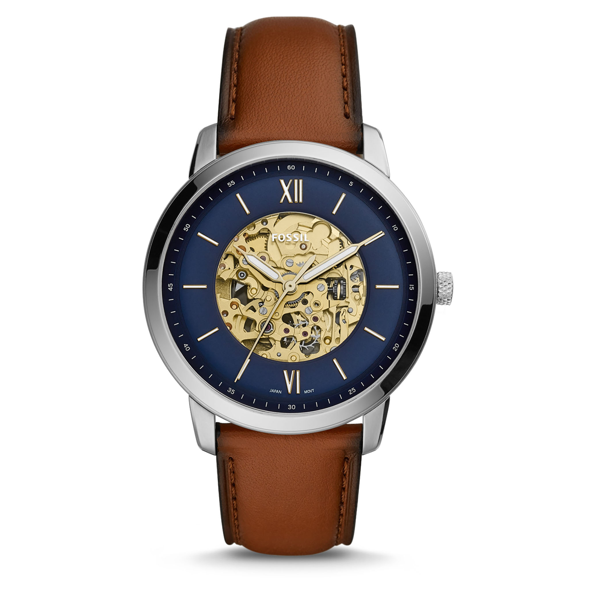Ceas FOSSIL - Nautra ME3160 Brown/Silver