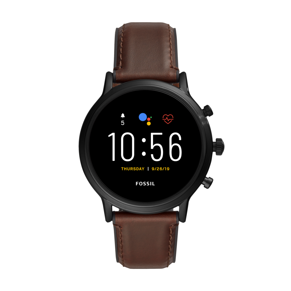 Smartwatch Fossil - Gen 5 Carlyle Ftw4026 Brown/Black imagine