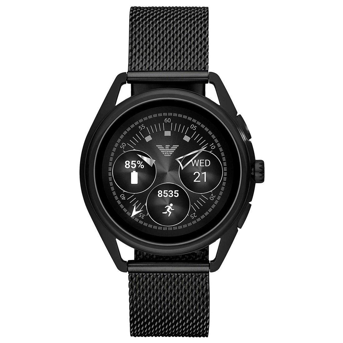 Smartwatch Emporio Armani - Matteo Art5019 Black imagine