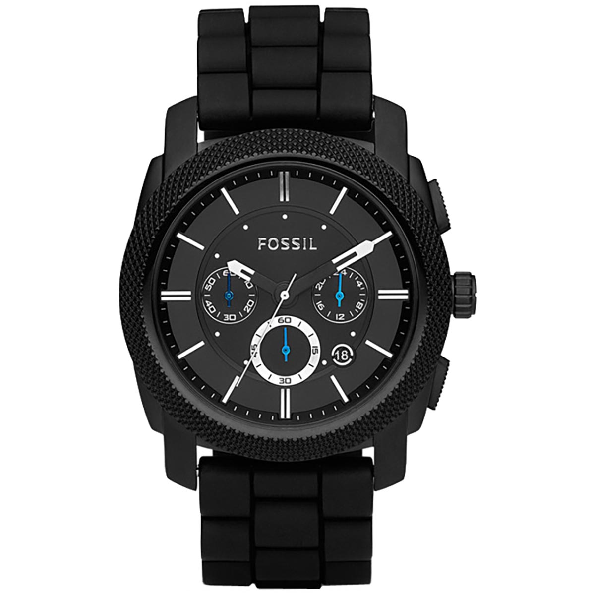 Ceas FOSSIL - Machine FS4487 Black/Black