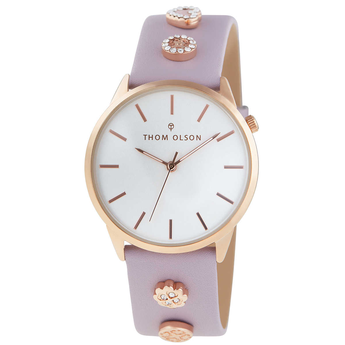 Ceas THOM OLSON - Gypset Lilac Lovers CBTO020 Lilac/Rose Gold