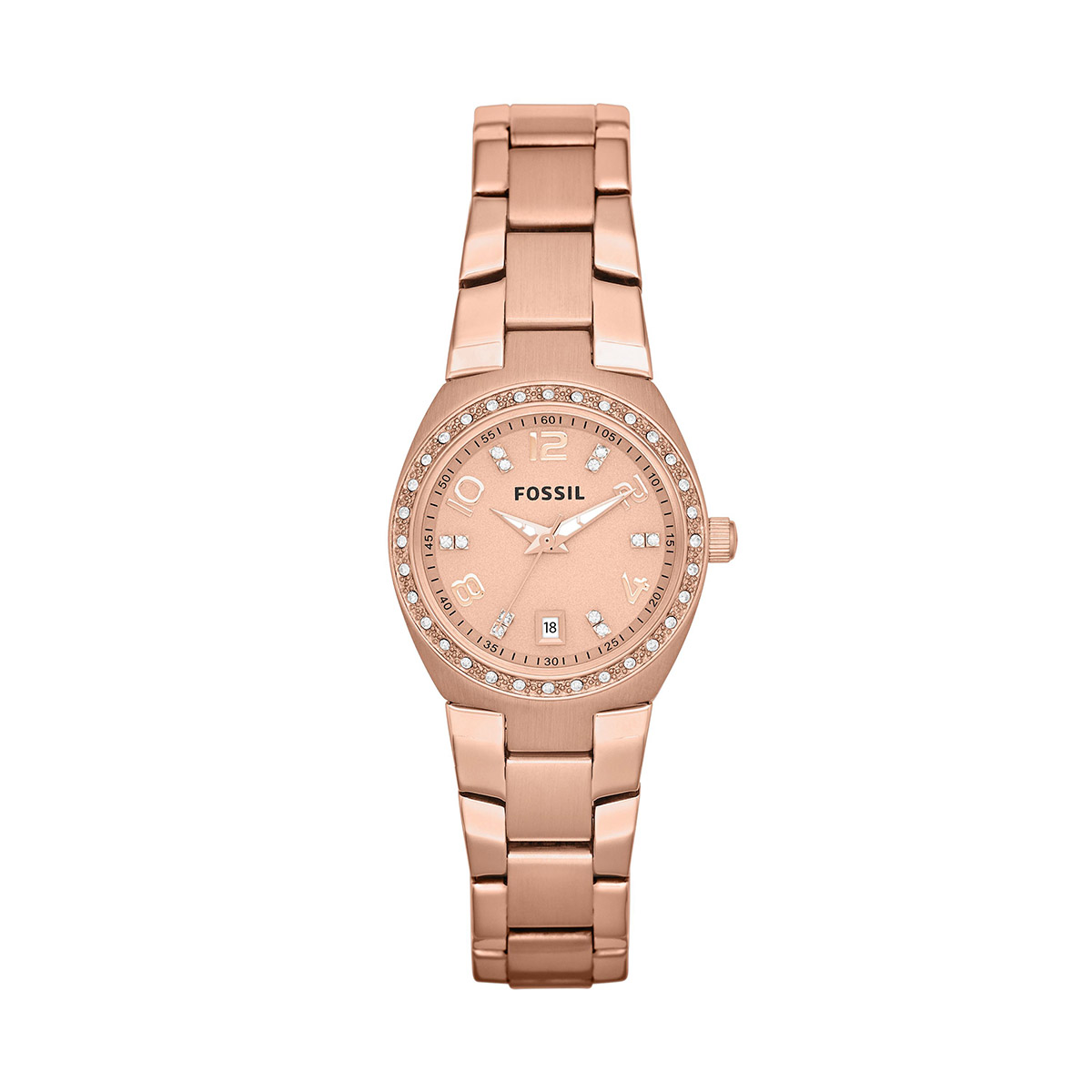 Ceas FOSSIL - Colleague AM4508 Rose Gold/Rose