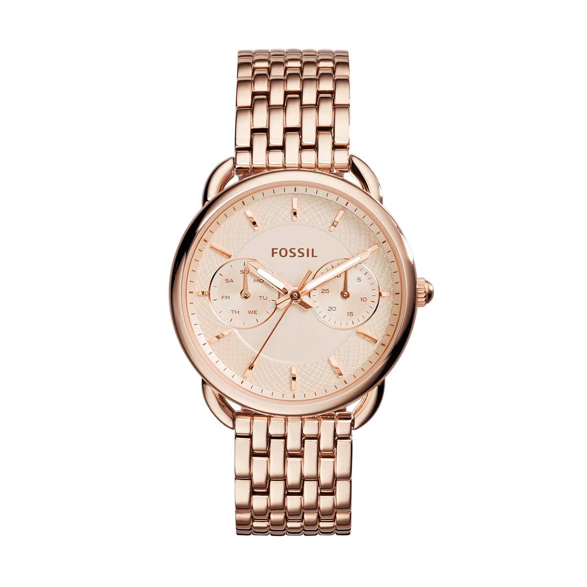 Ceas FOSSIL - Tailor ES3713 Rose Gold/Rose Gold