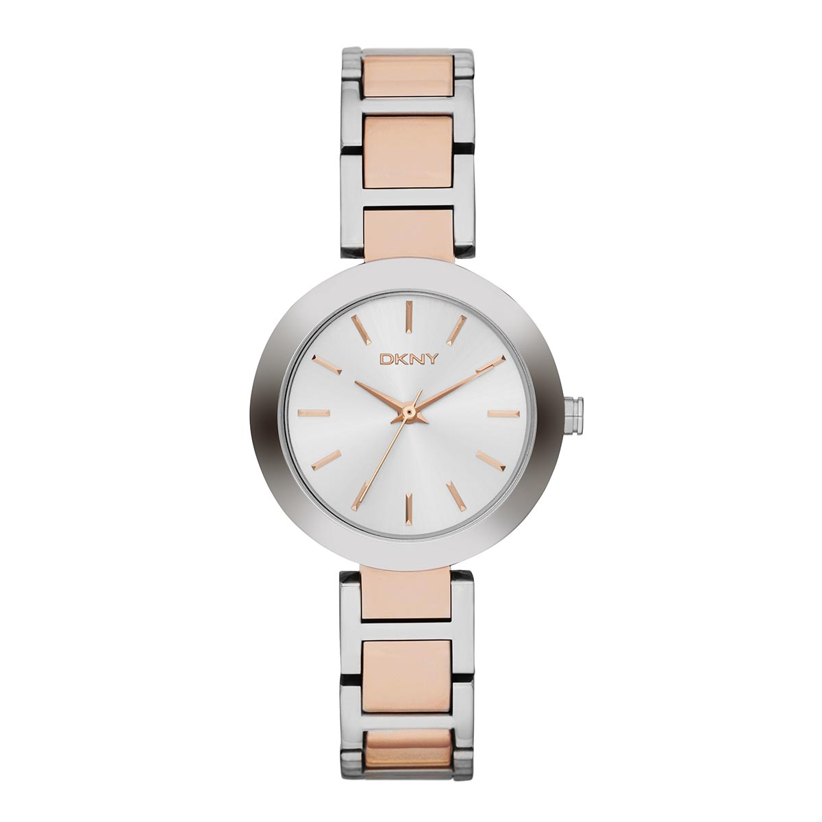Ceas DKNY - Stanhope NY2402 2T Silver/Rose/Silver/Steel