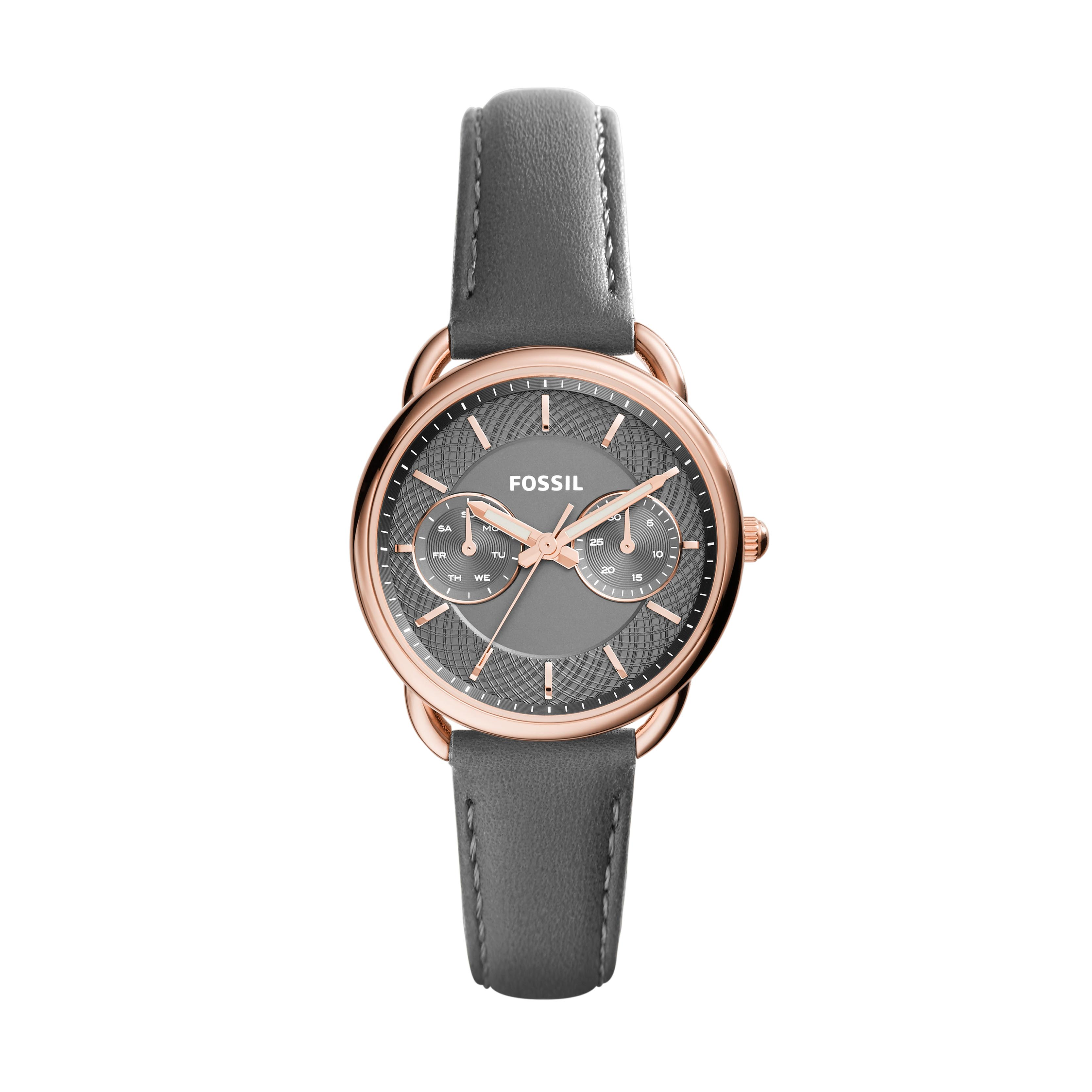 Ceas FOSSIL - Tailor ES3913 Gray/Rose Gold