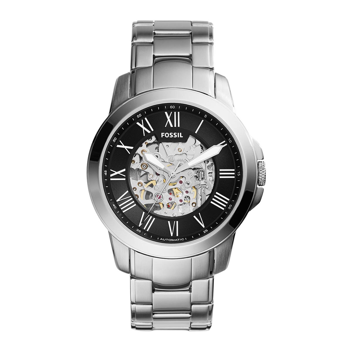 Ceas FOSSIL - Grant ME3103 Silver/Steel