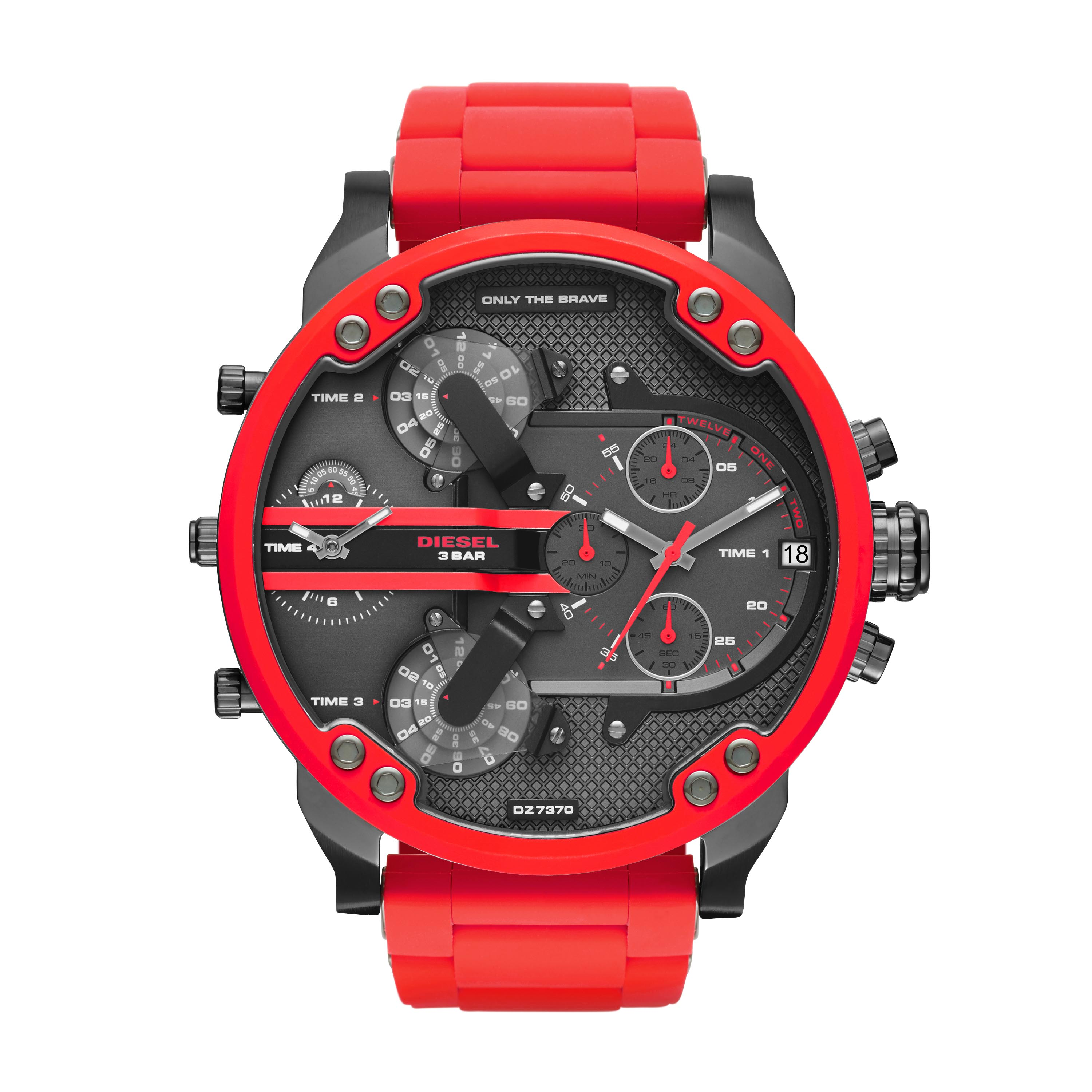 Ceas DIESEL - The Daddies Series DZ7370 Red/Red