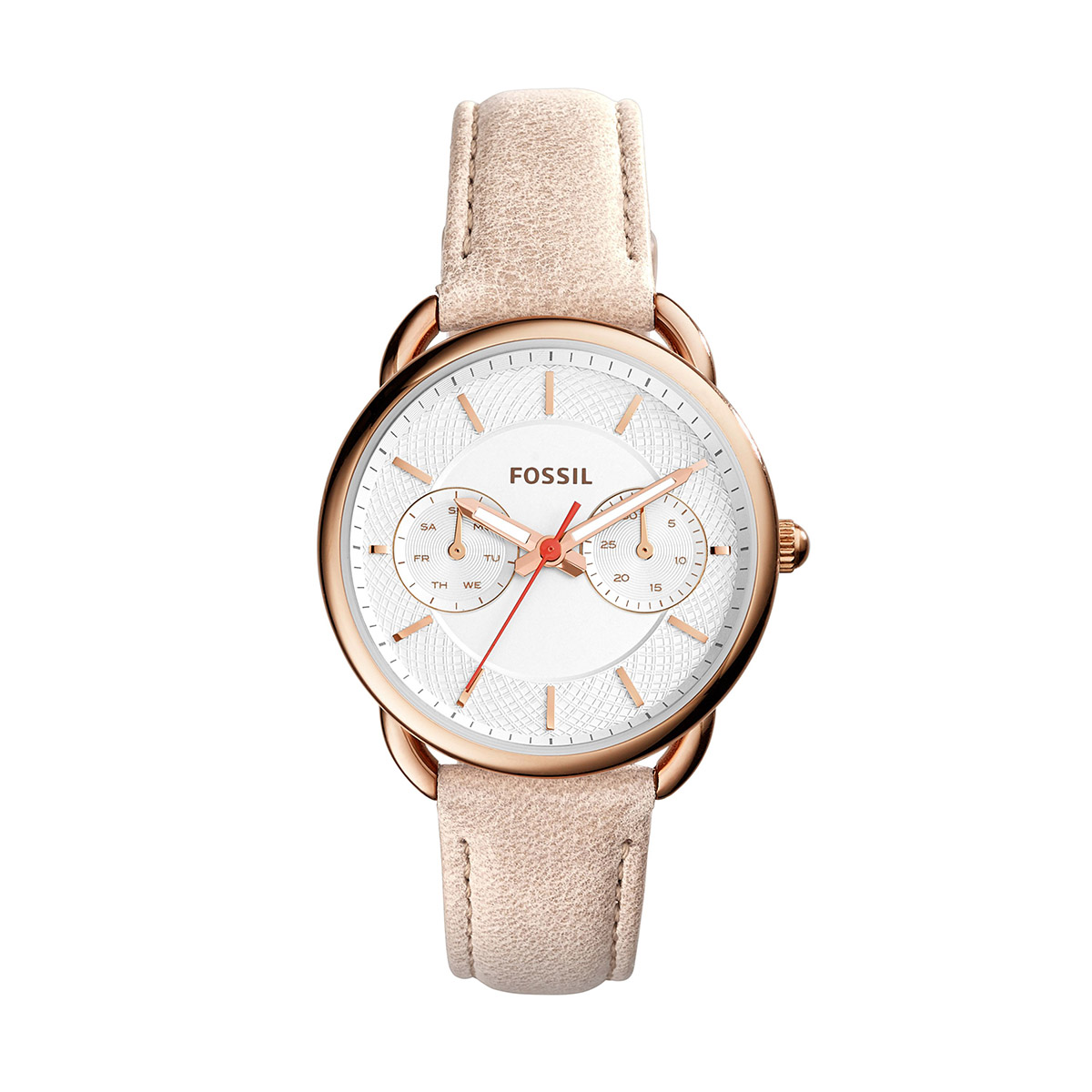 Ceas FOSSIL - Tailor ES4007 Light Brown/Rose Gold