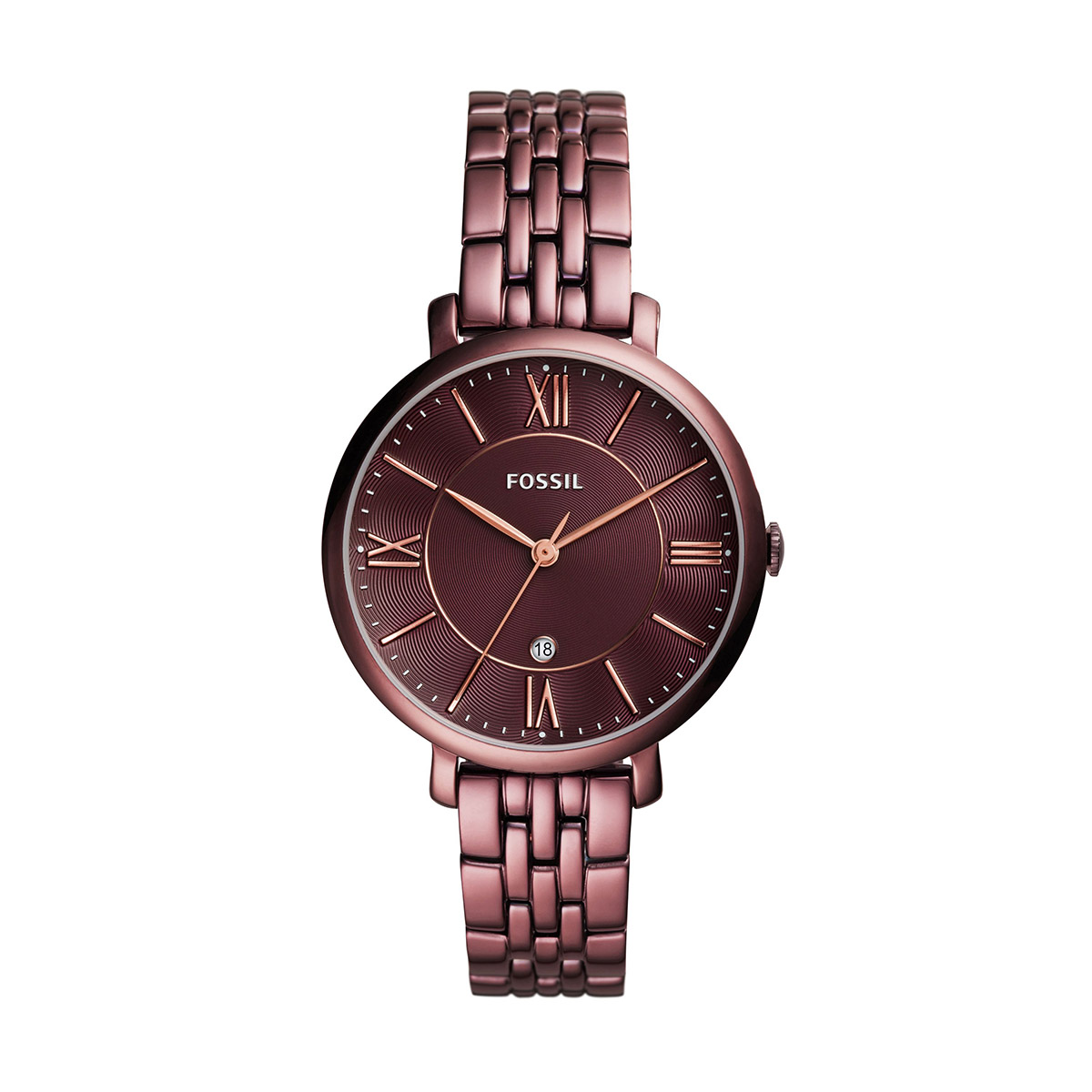 Ceas FOSSIL - Jacqueline ES4100 Red/Red