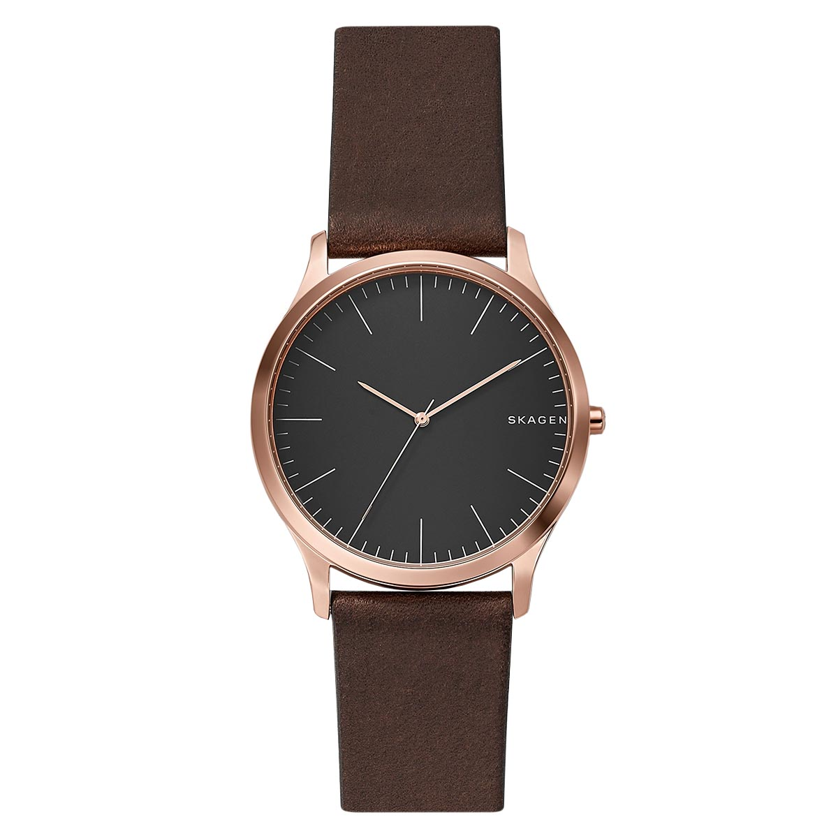 Ceas SKAGEN - Jorn SKW6330 Dark Brown/Rose Gold