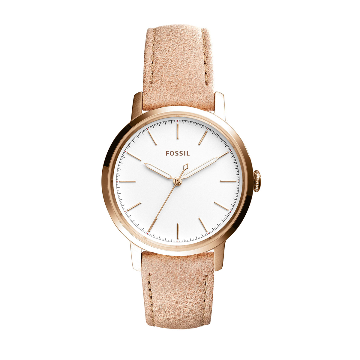 Ceas FOSSIL - Neely ES4185 Light Brown/Rose Gold
