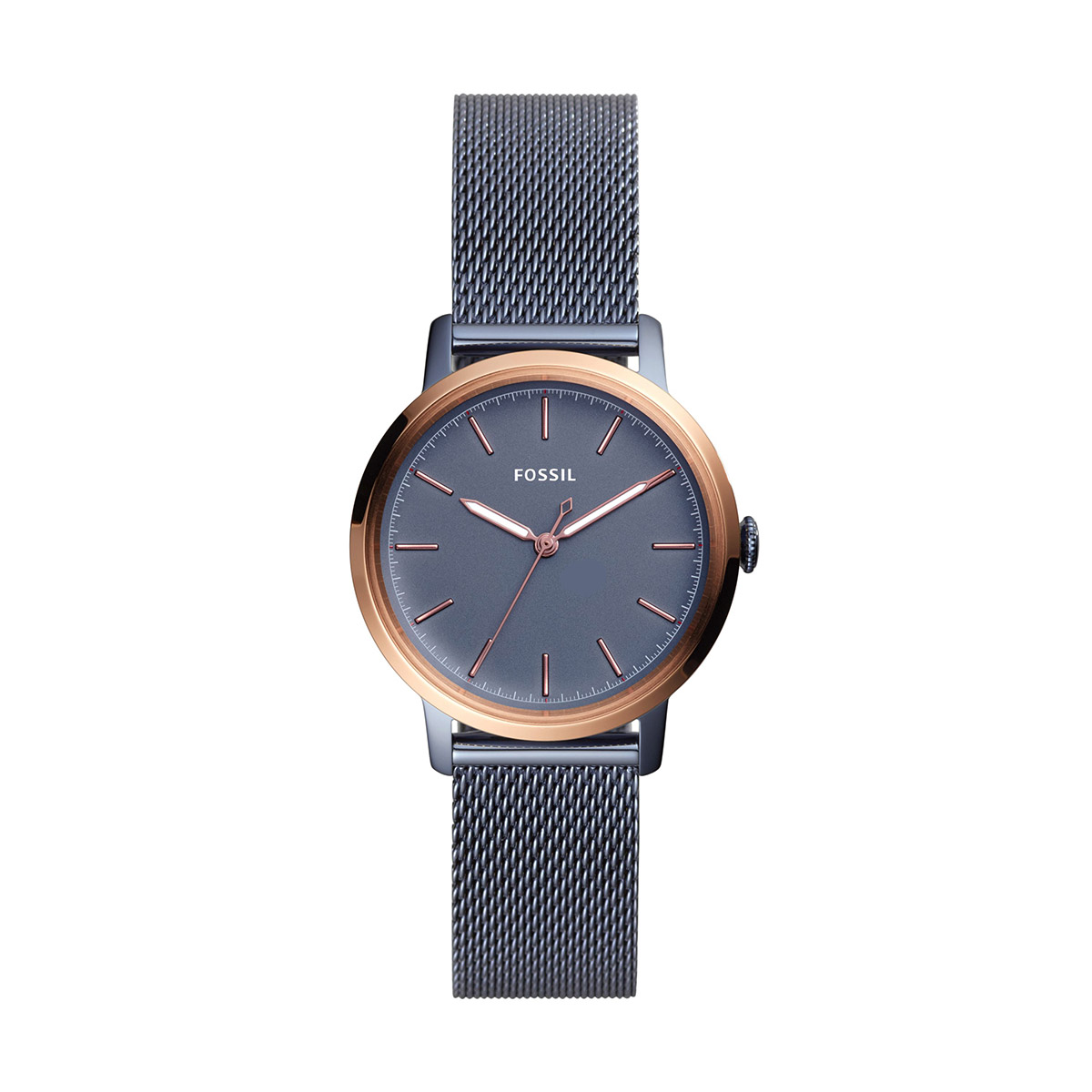 Ceas FOSSIL - Neely ES4312 Blue/Rose Gold
