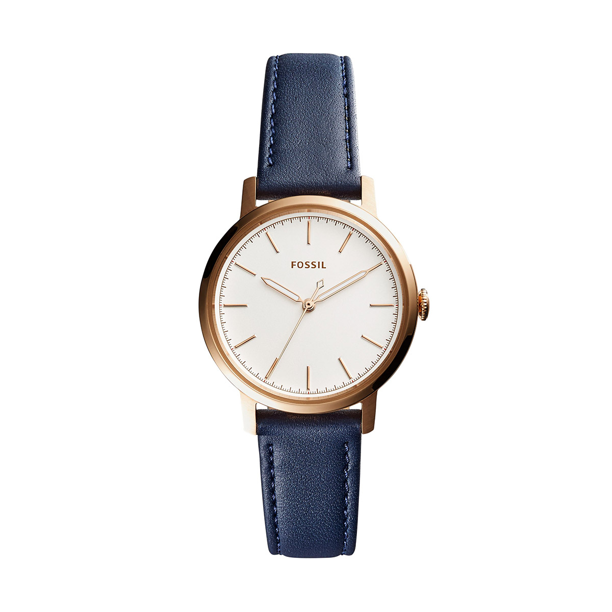 Ceas FOSSIL - Neely ES4338 Blue/Rose Gold