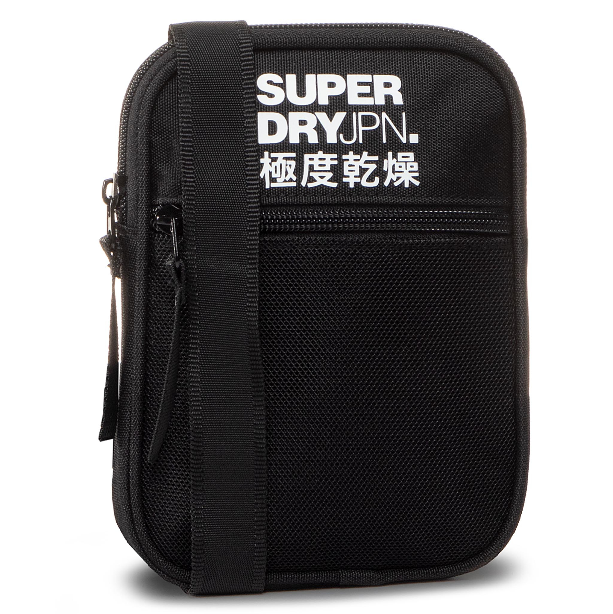 Geantă Crossover Superdry - Sport Pouch M9110006a Black 02a imagine