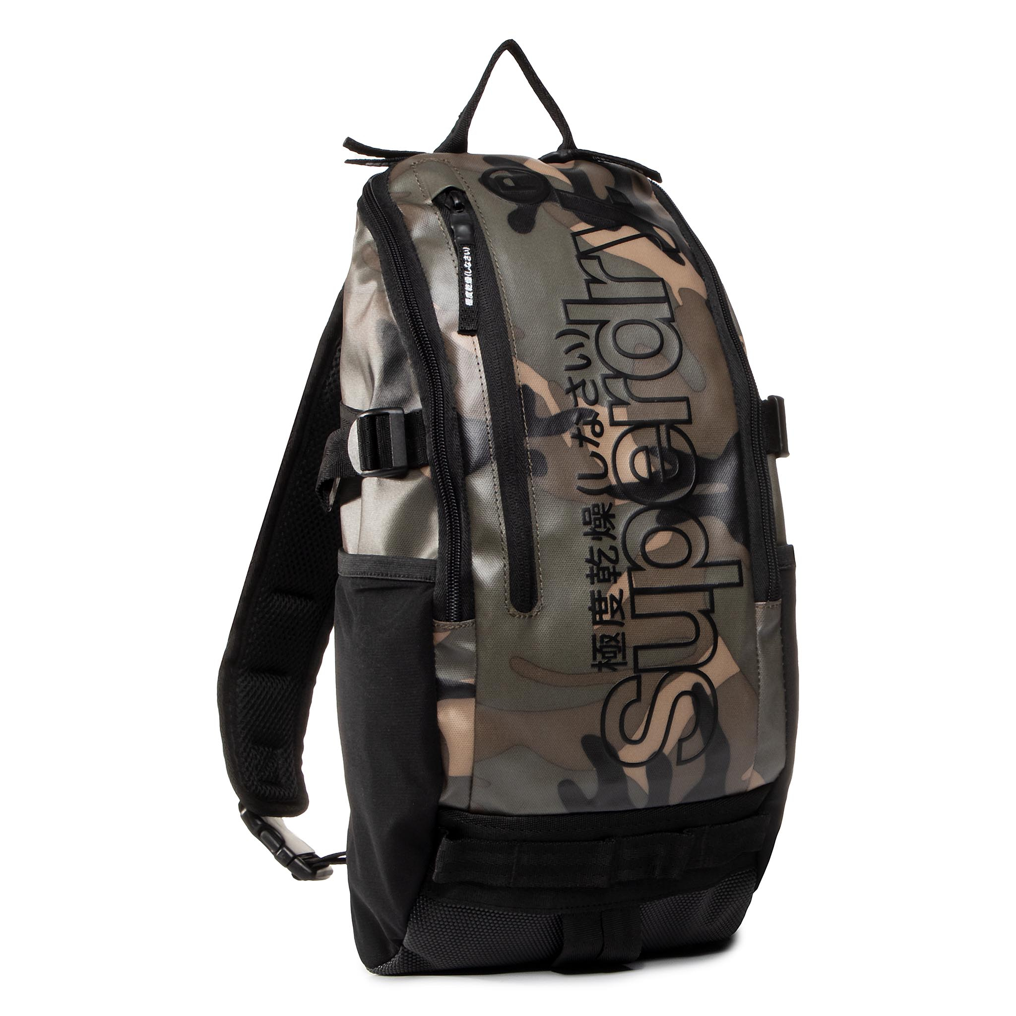 Geantă Superdry - Hardy Sling Bag M9110008a Green Camo imagine