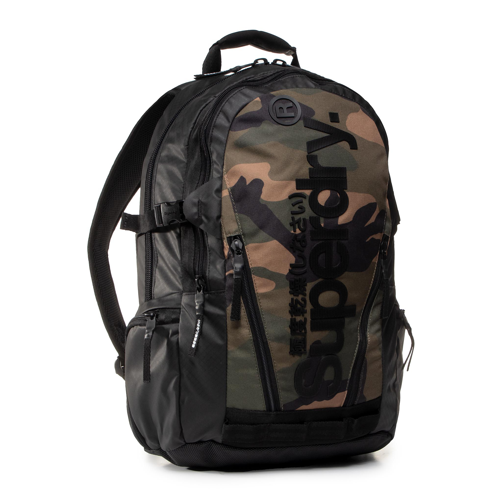 Rucsac SUPERDRY - Tarp Backpack M9110026A Green Camo