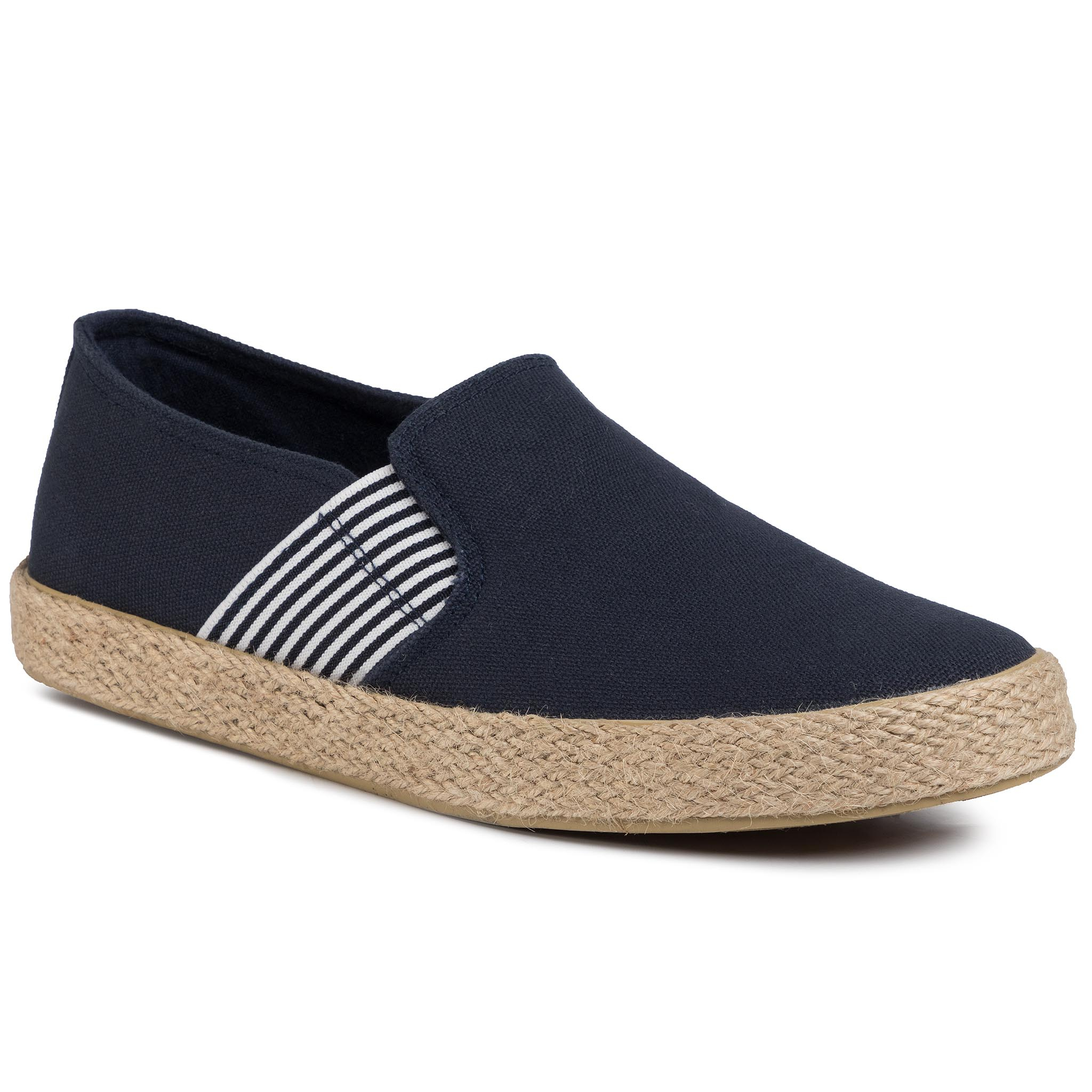 Espadrile LANETTI - MF19070-1 Navy imagine