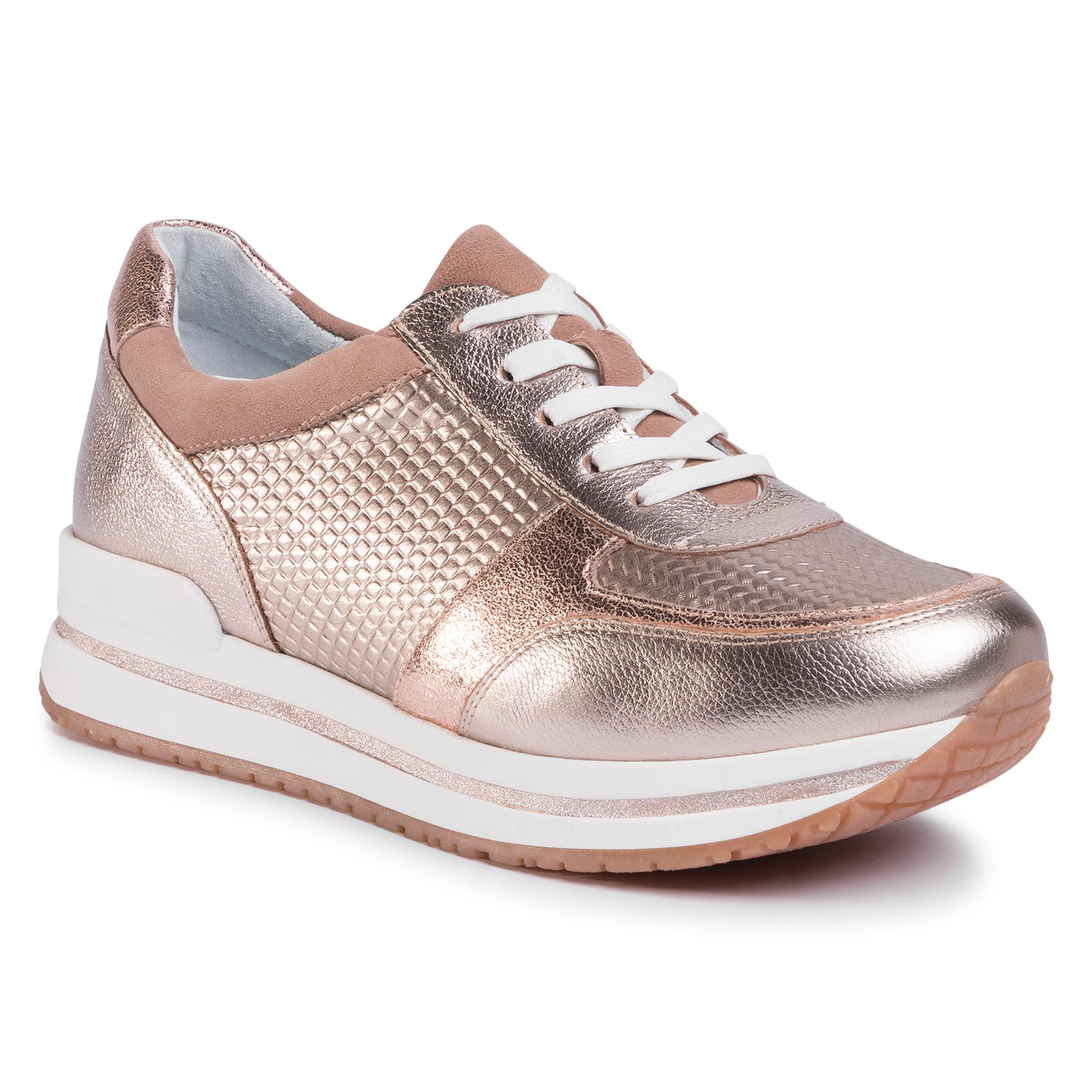 Sneakers GINO ROSSI - RST-LIKE-01 Golden