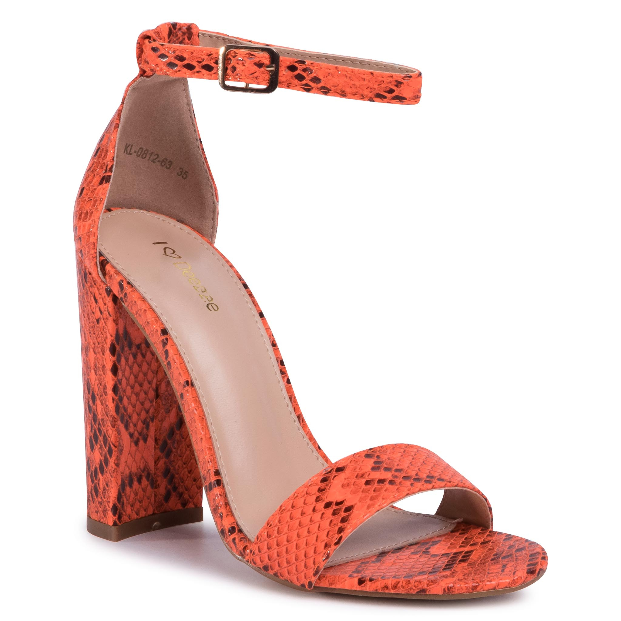 Sandale DEEZEE - KL-0812-63 Orange