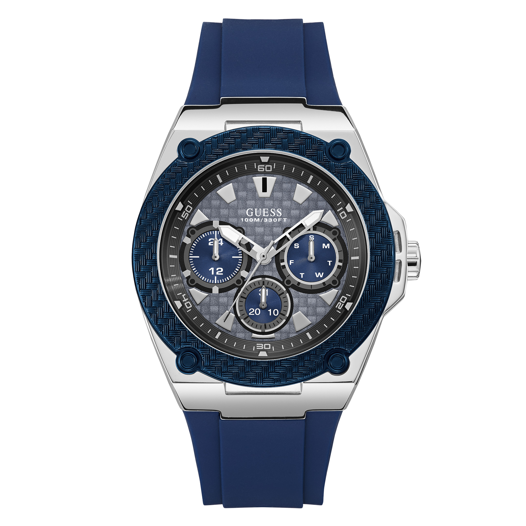Ceas GUESS - Legacy W1049G1 NAVY/SILVER/NAVY
