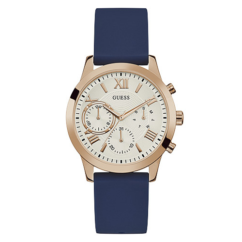 Ceas GUESS - Solar W1265L1 NAVY/ROSE GOLD