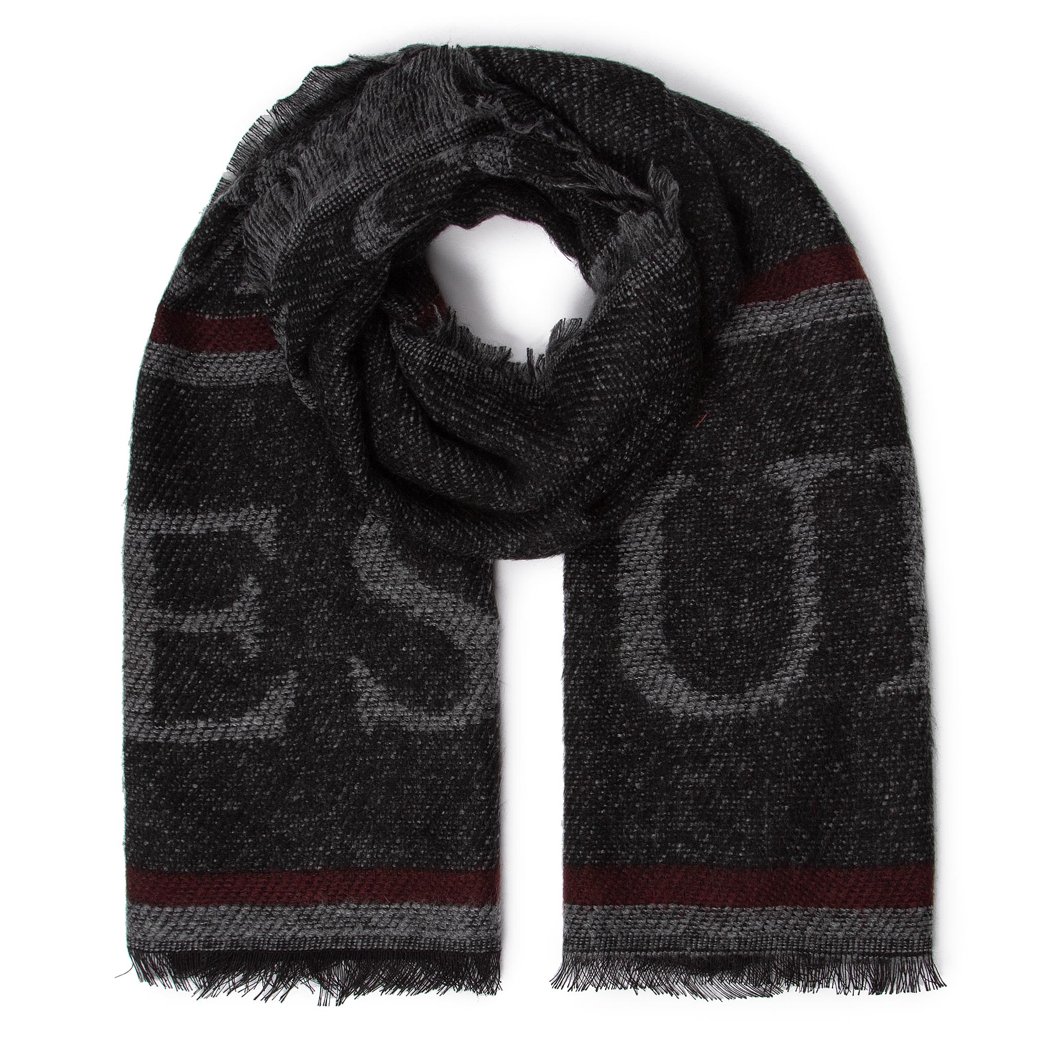 Fular GUESS - Not Coordinated Scarves AM8560 WOL03 BLA New