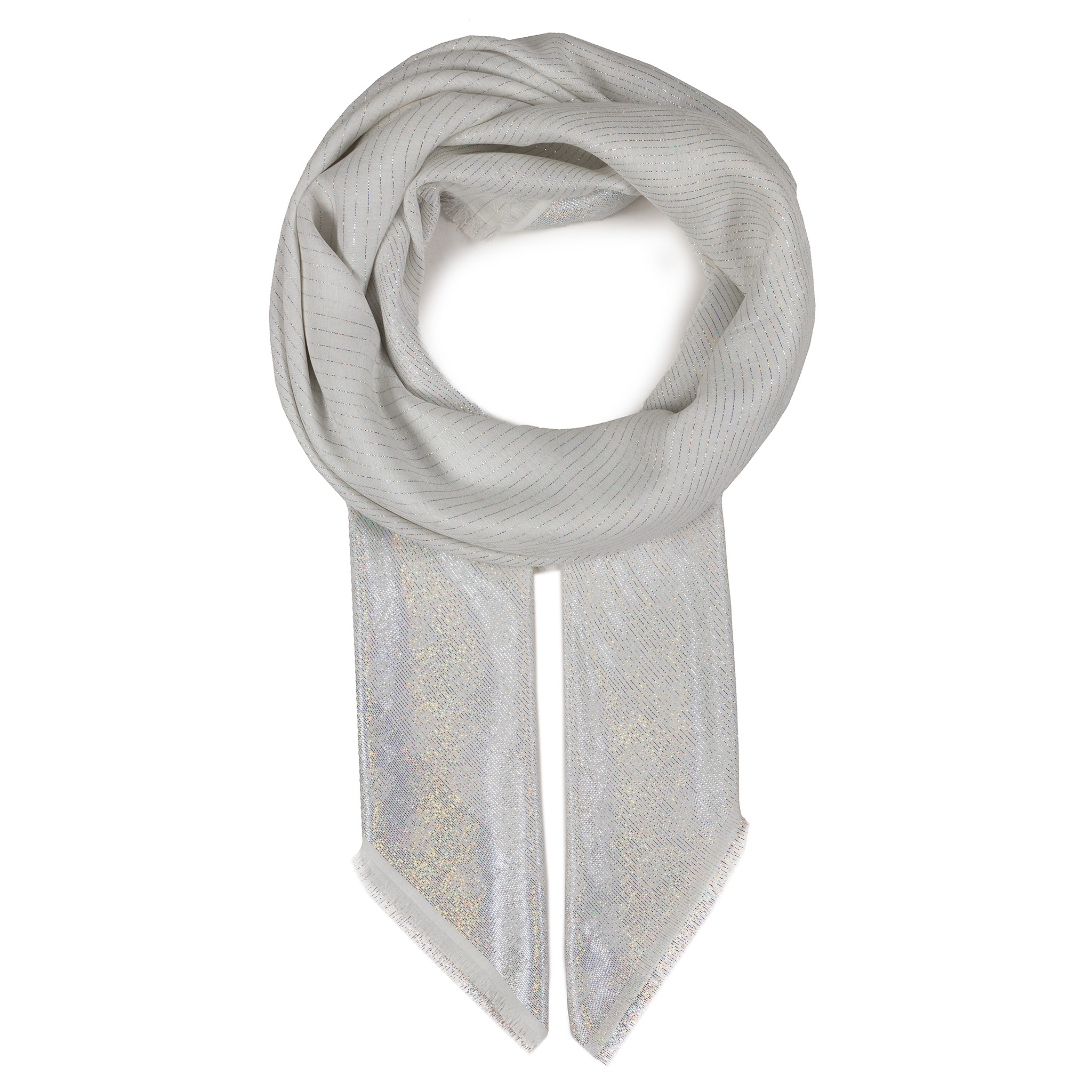 Eșarfă GUESS - Not Coordinted Scarves AW8412 VIS03 IVO