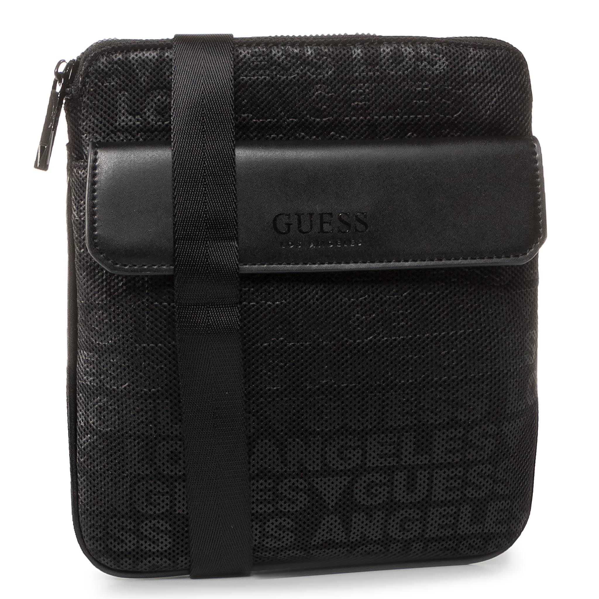 Geantă Crossover Guess - New Milano Tech Hmnemt P0227 Bla imagine