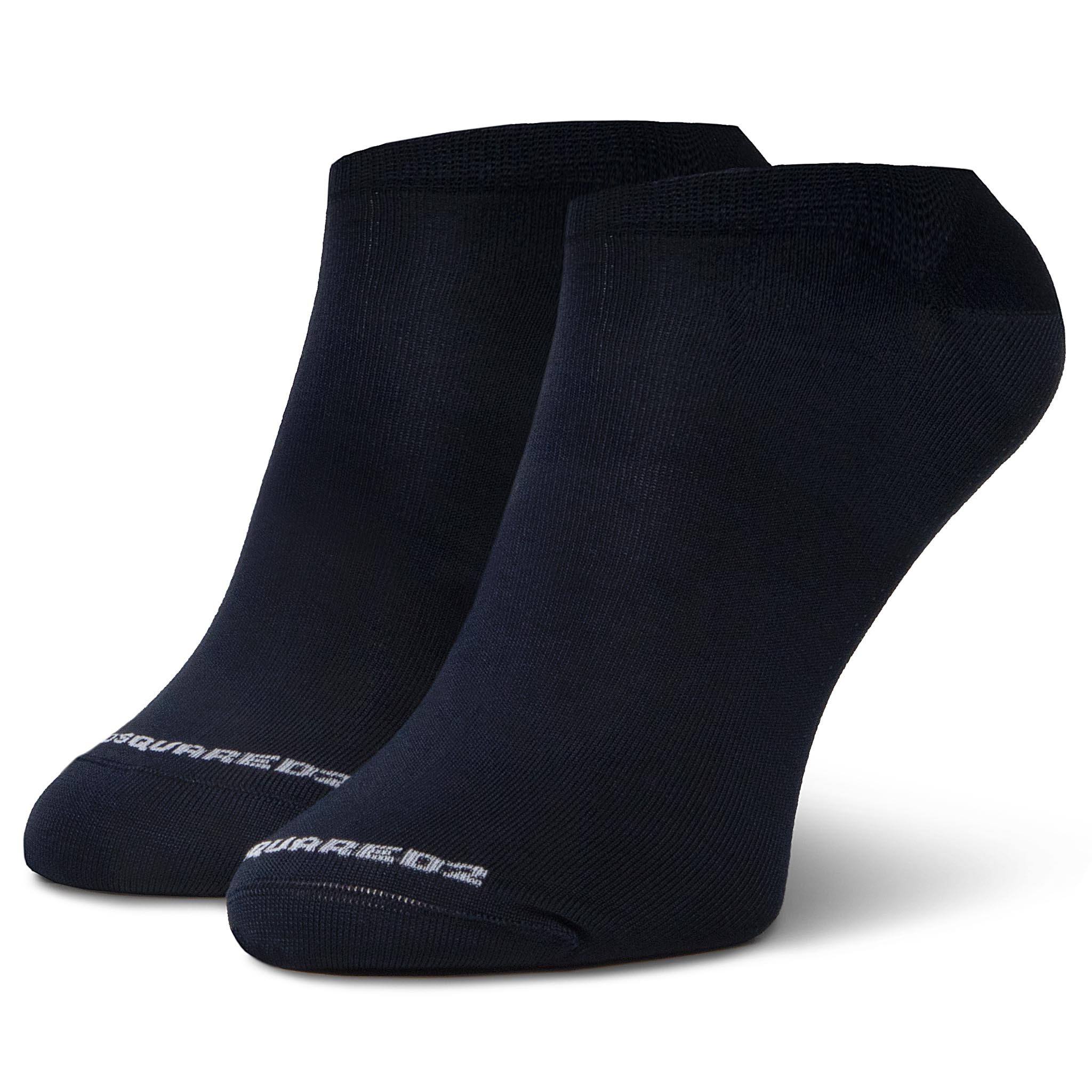 Șosete Medii Unisex Dsquared2 - No Show Socks Dfv161880.410un R.Os Navy imagine
