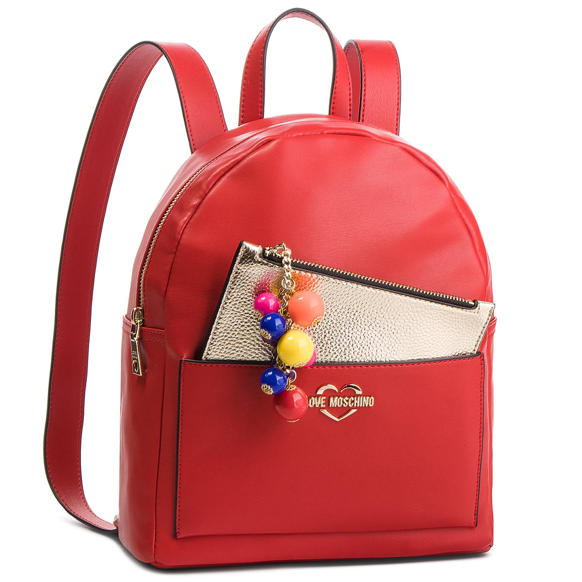 Rucsac LOVE MOSCHINO - JC4107PP17LM0500 Rosso