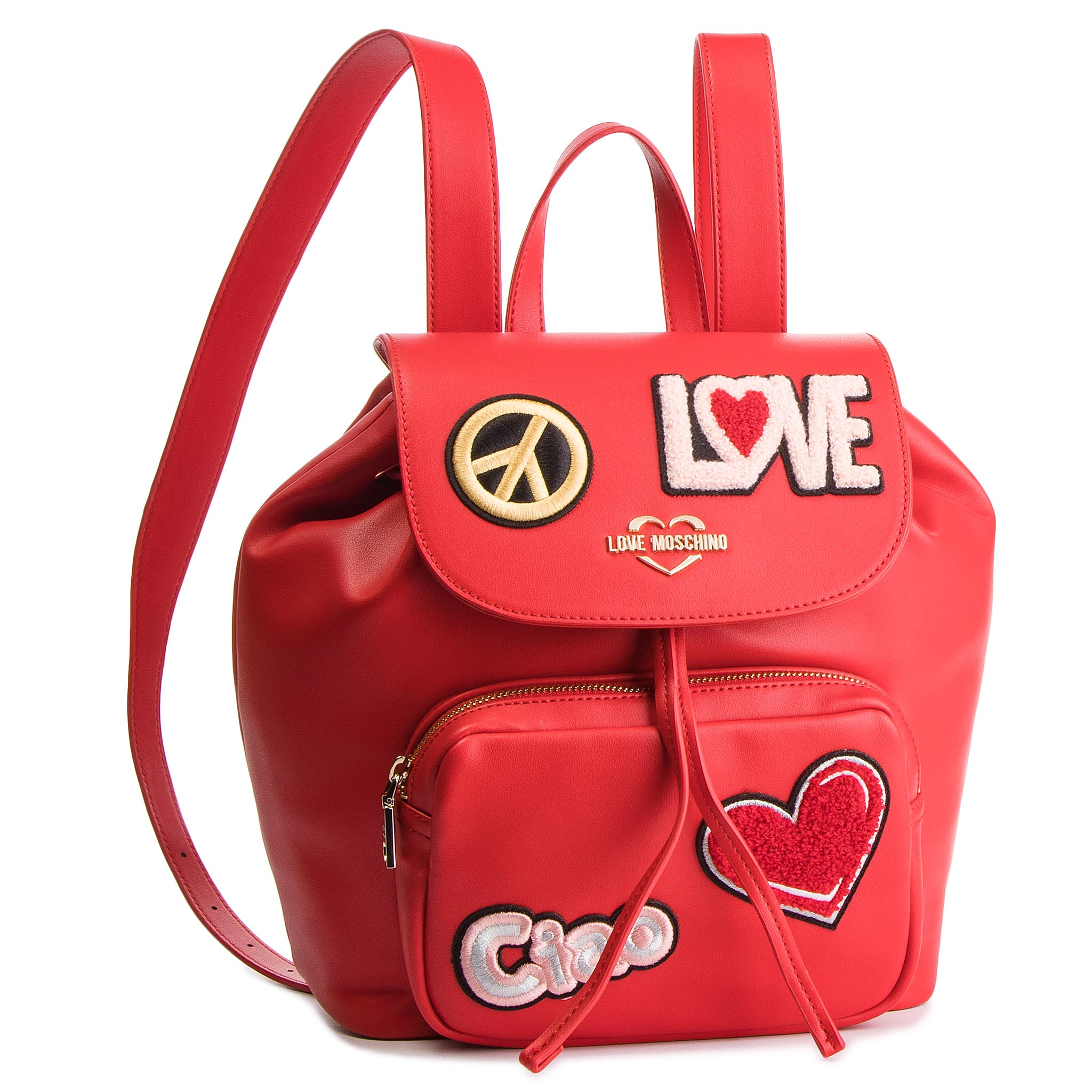 Rucsac LOVE MOSCHINO - JC4082PP17LJ0500 Rosso