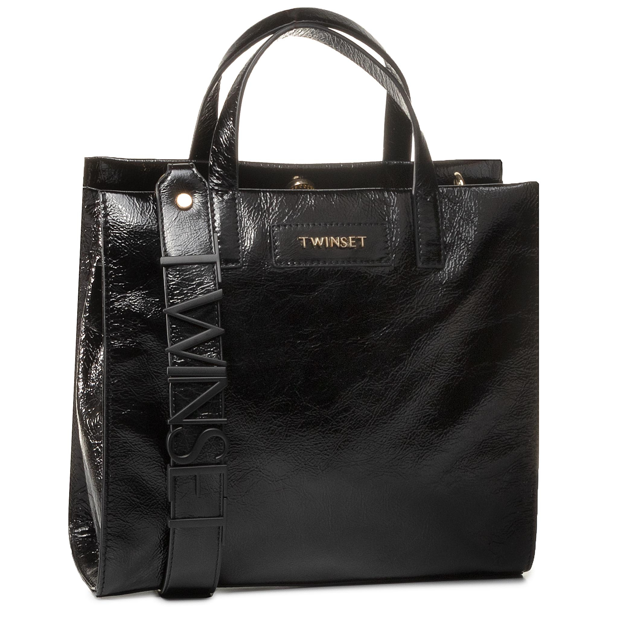 Geantă TWINSET - Tote 201TO8091 Nero 00006