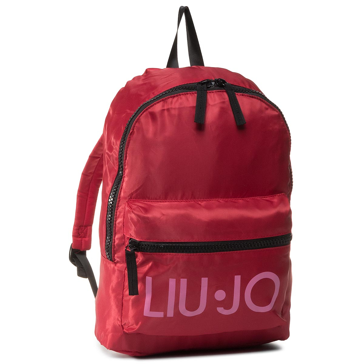 Rucsac LIU JO - Nylon Printed Backp 2A0033 T0300 Pink Bubble X0233