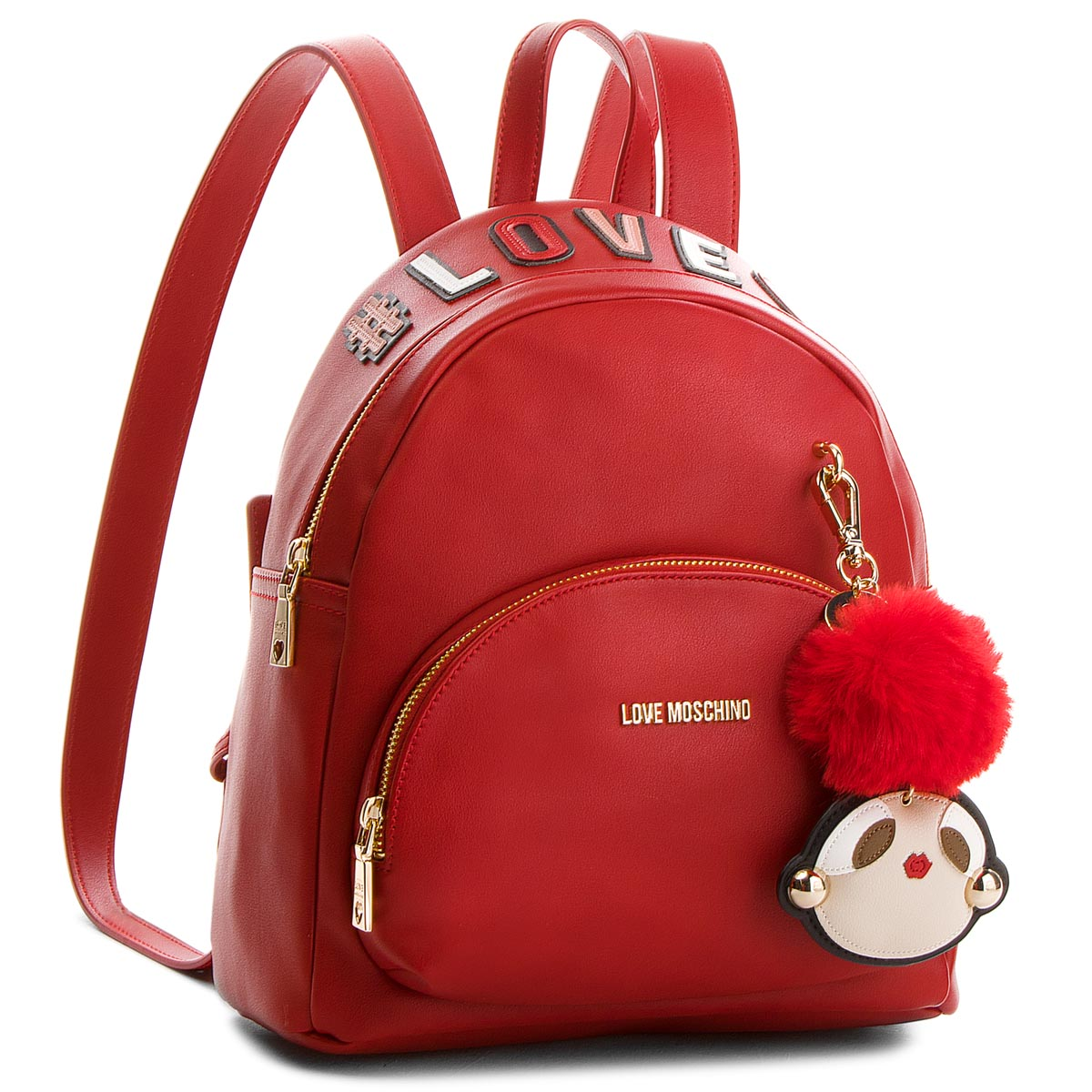 Rucsac LOVE MOSCHINO - JC4072PP16LK0500 Rosso