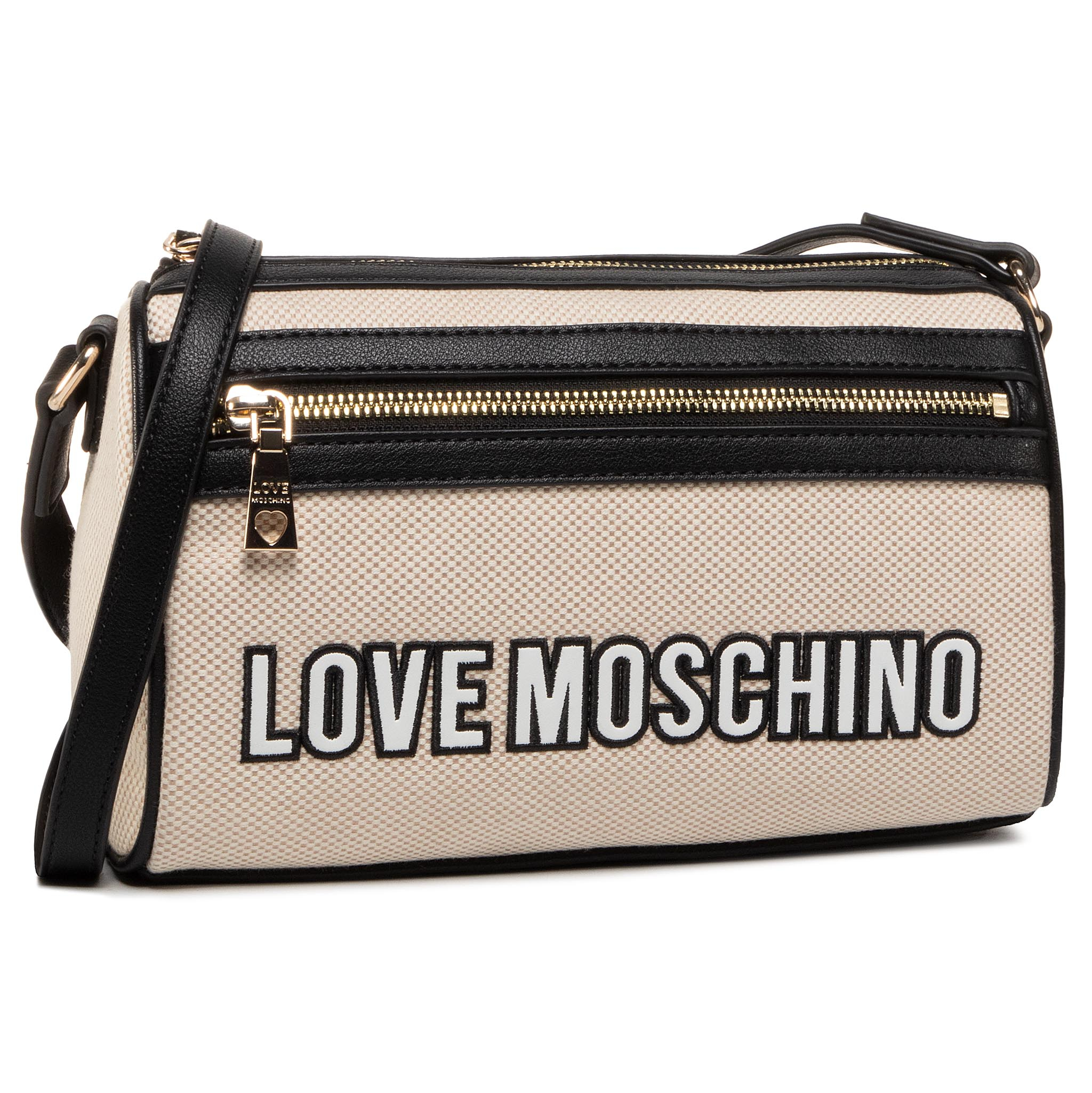 Geantă LOVE MOSCHINO - JC4230PP0AKF110A Bia/Ner