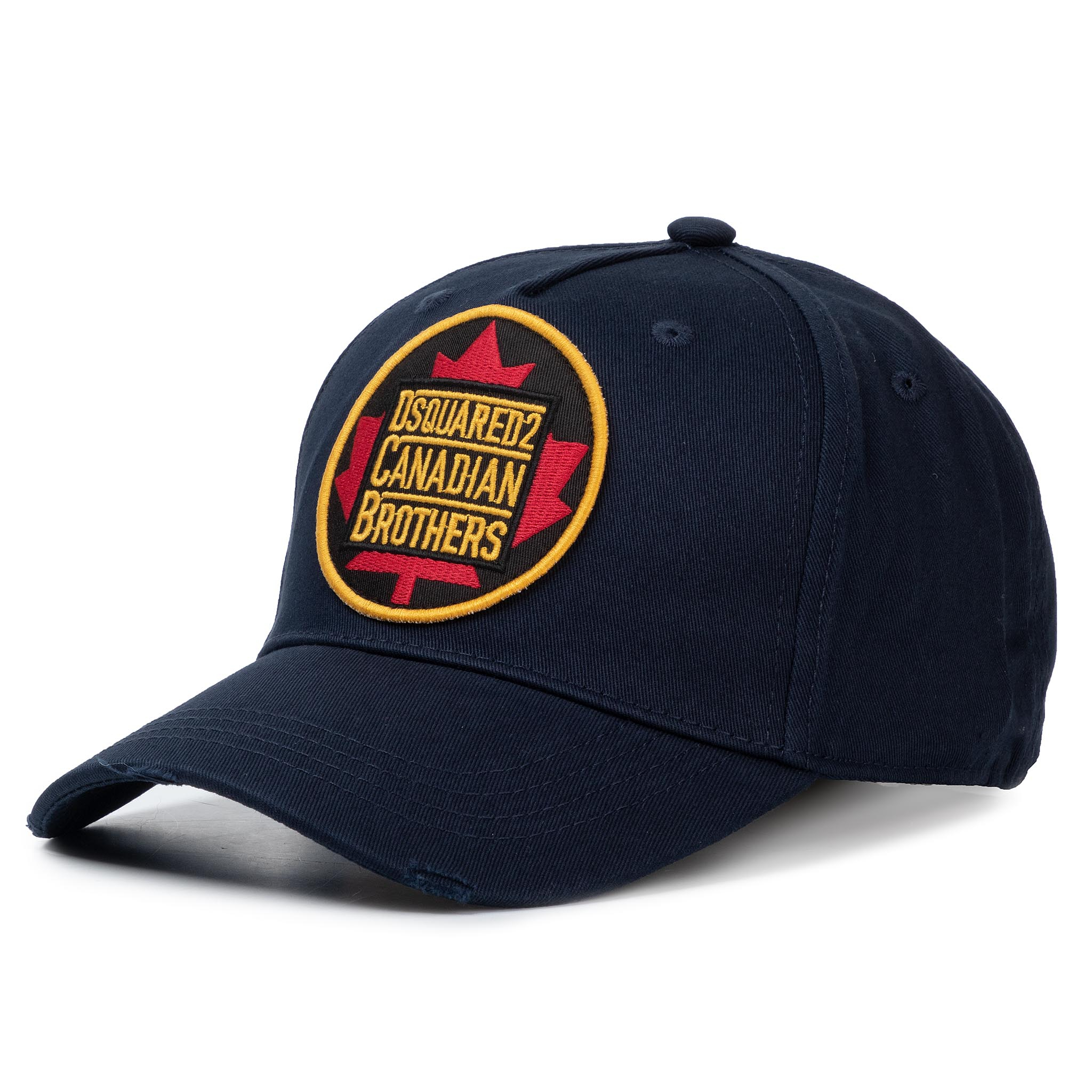 Șapcă DSQUARED2 - Patch Cargo Baseball Caps BCM0238 05C00001 3073 Navy