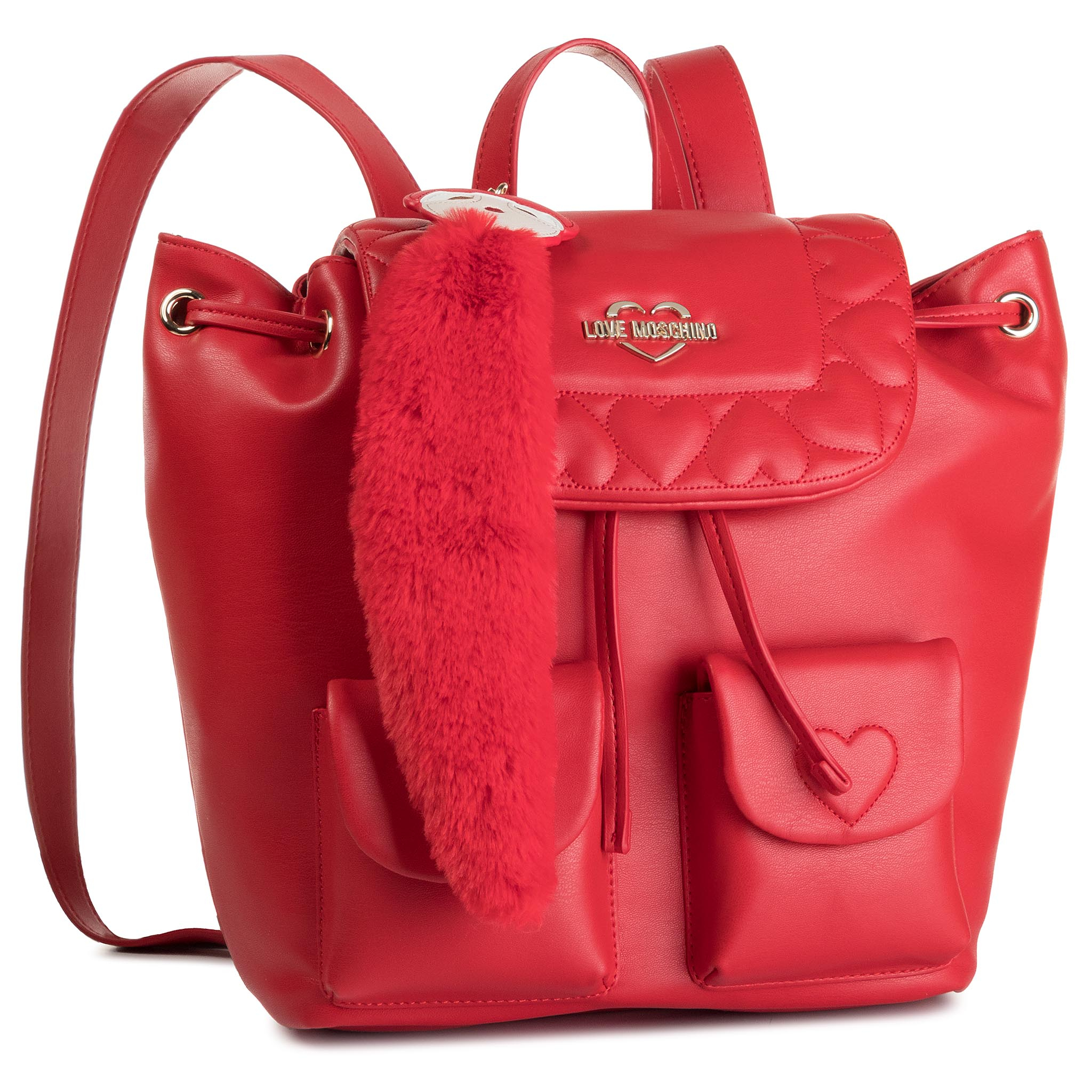 Rucsac LOVE MOSCHINO - JC4087PP18LO0500 Rosso