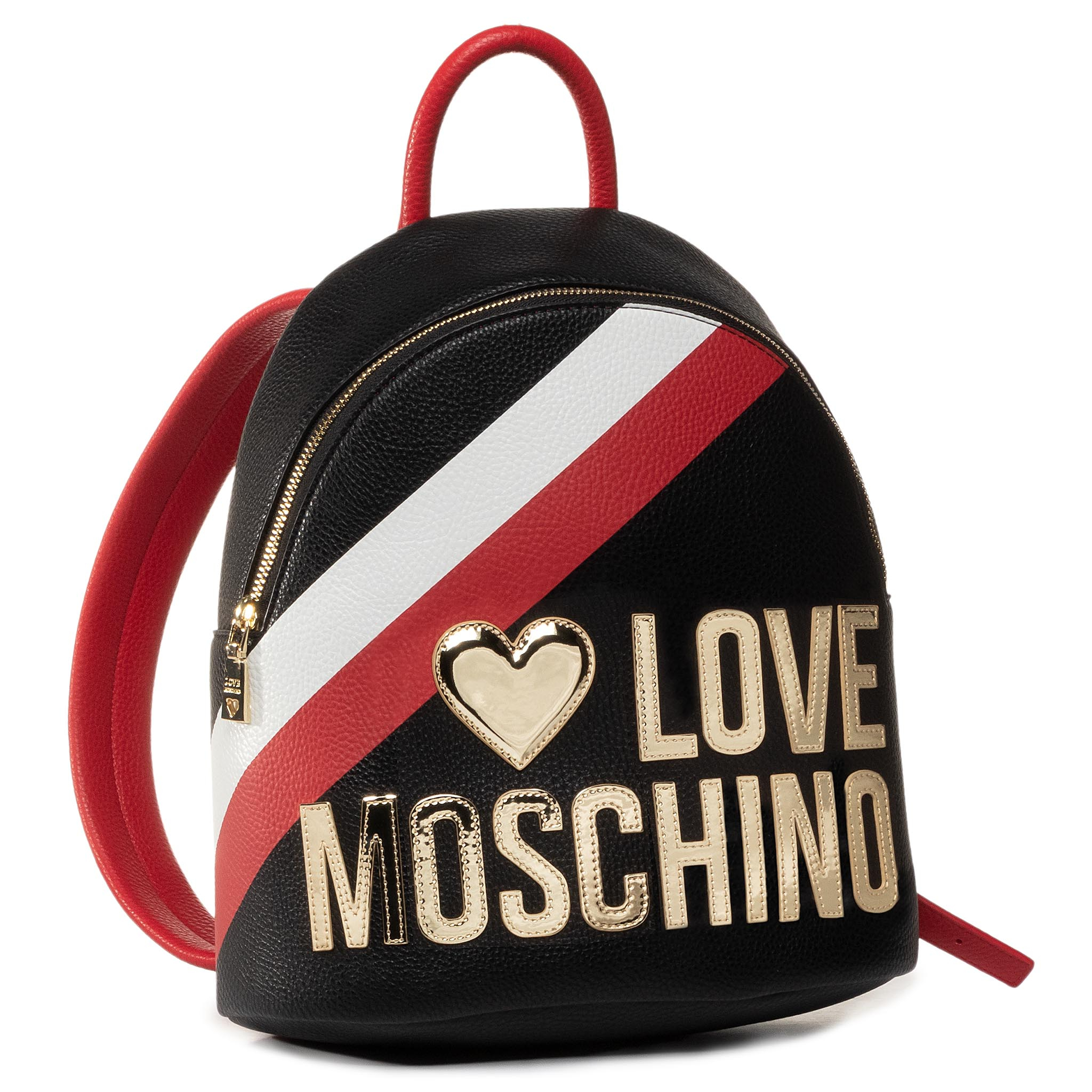 Rucsac LOVE MOSCHINO - JC4286PP0AKP100A Mix Nero/Rosso