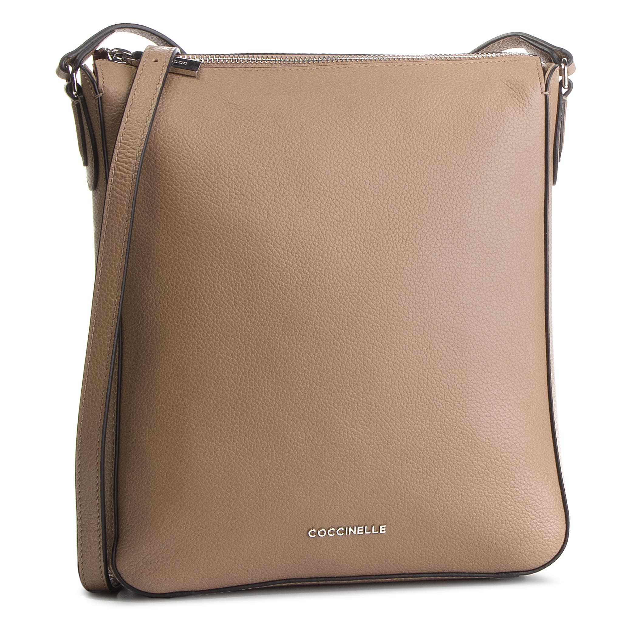 Geantă COCCINELLE - DQ0 Lulin Soft E1 DQ0 15 01 01 Taupe N75