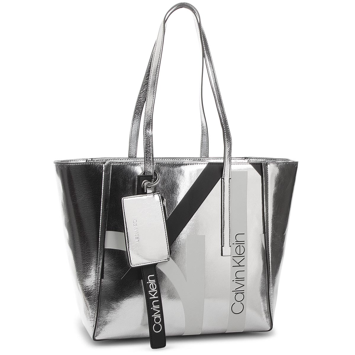 Geantă CALVIN KLEIN - Ck Base Medium Shopper Print K60K604667 904