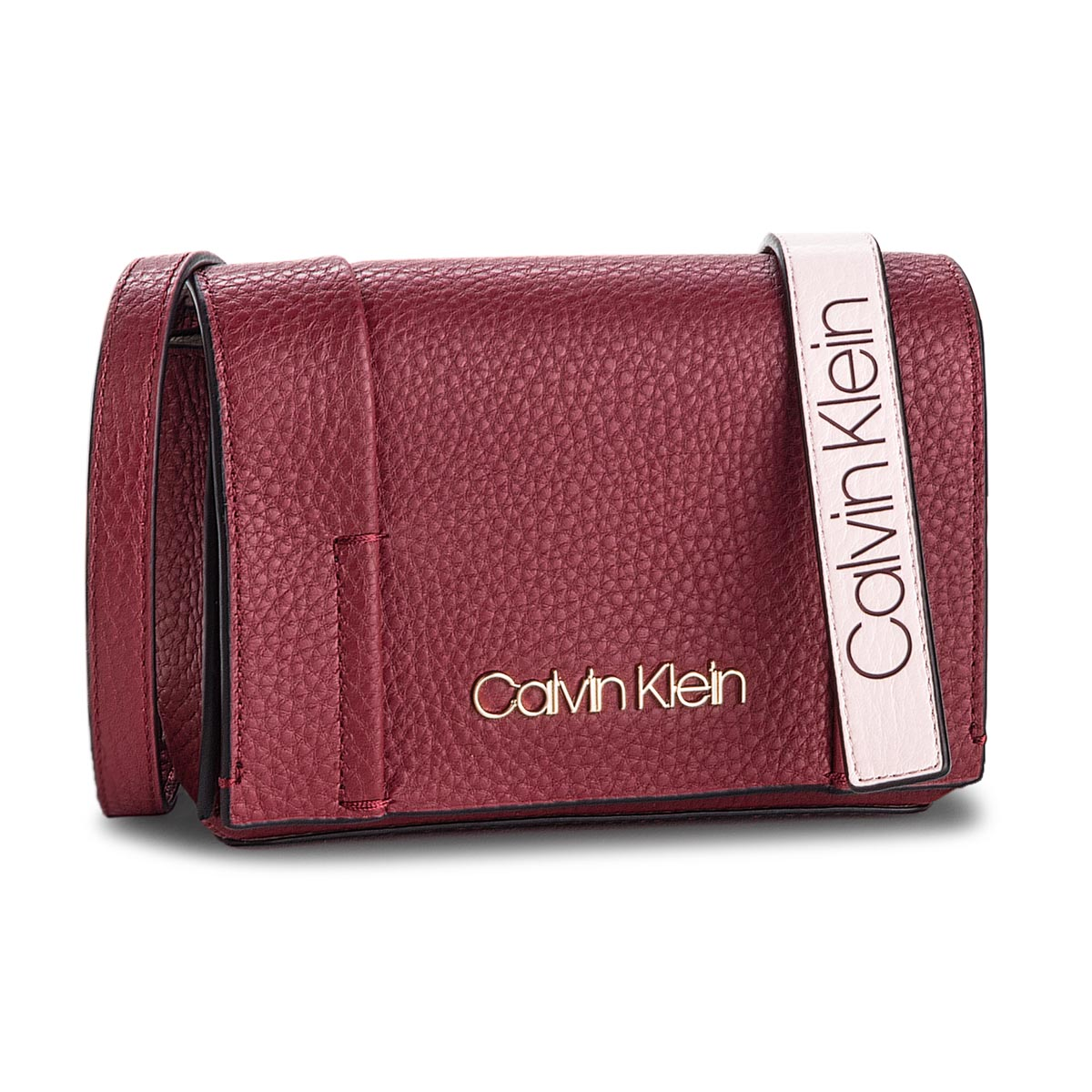 Geantă CALVIN KLEIN - City Leather Sml Fla K60K604481 628