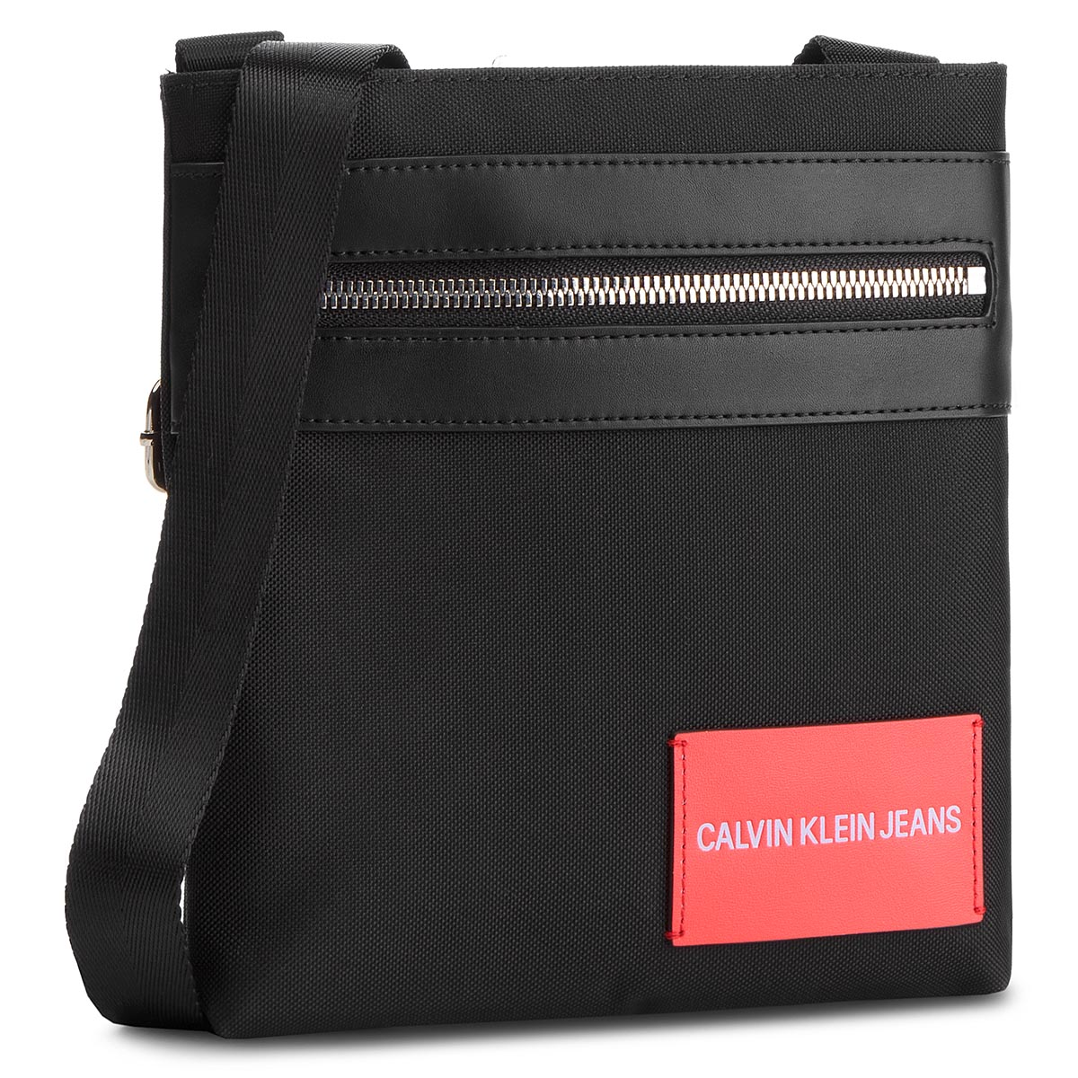 Geantă Crossover Calvin Klein Jeans - Sp Essential + Micro Flat Pack K40k400801 001 imagine