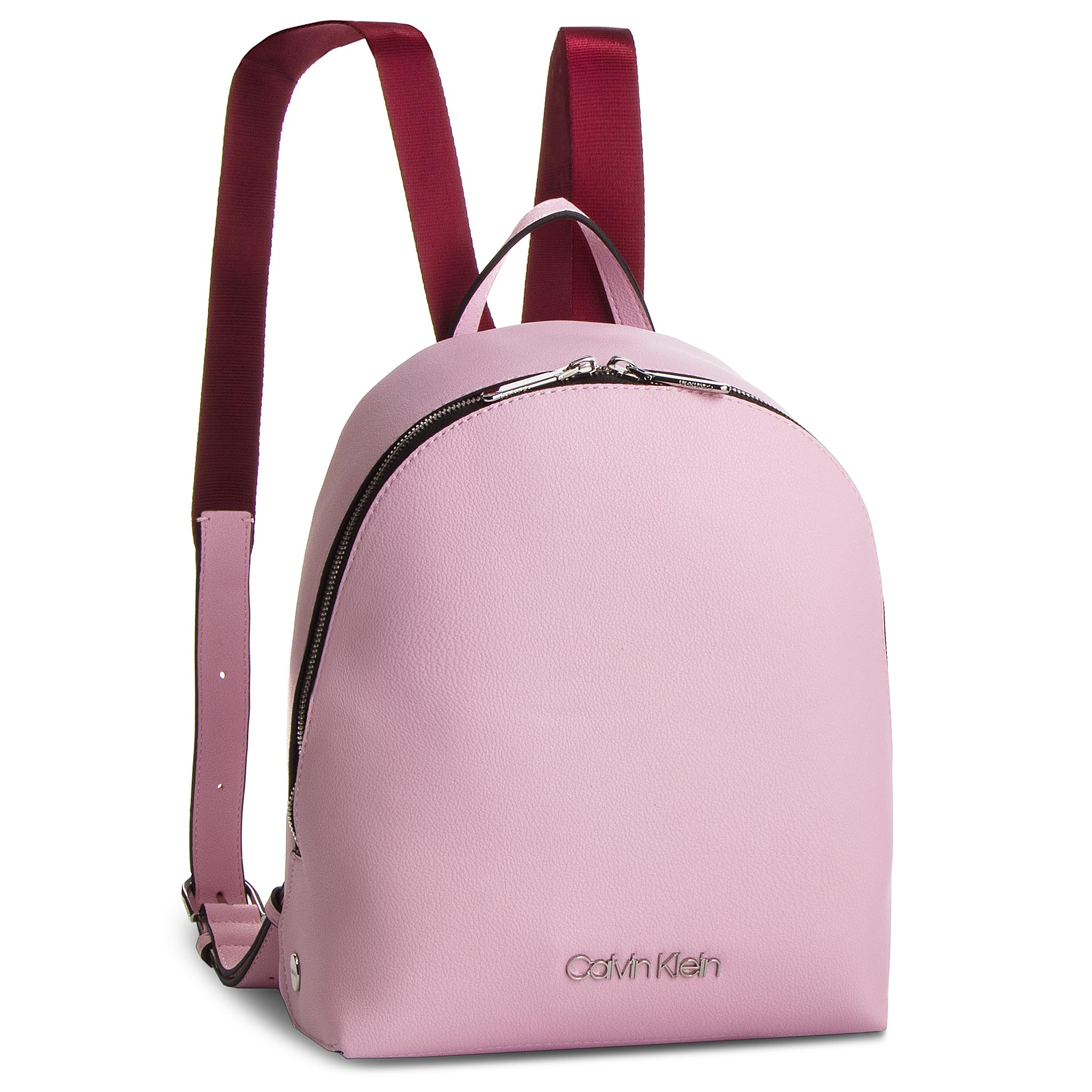 Rucsac CALVIN KLEIN - Snap Sml Backpack K60K604804 Pink 639