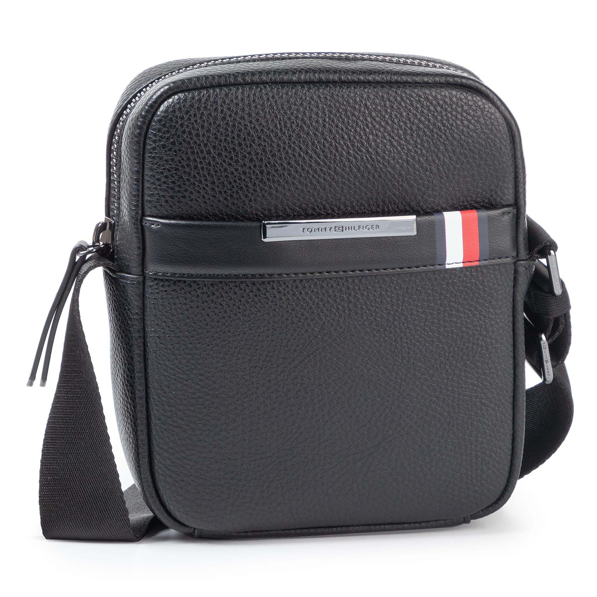 Geantă crossover TOMMY HILFIGER - Th Downtown Mini Reporter AM0AM05241 BDS