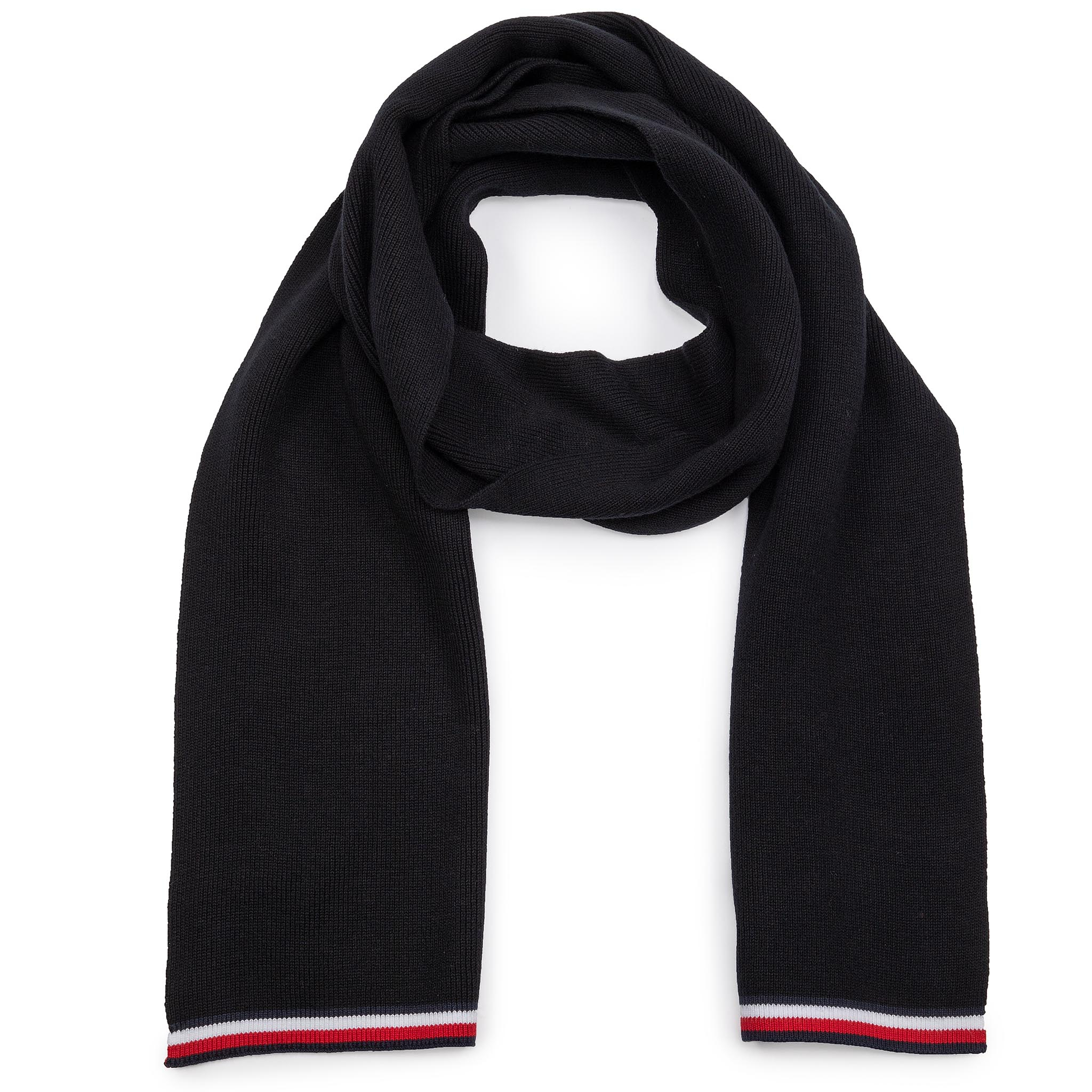 Fular TOMMY HILFIGER - 2Mb Knitted Scarf AM0AM05310 BDS New