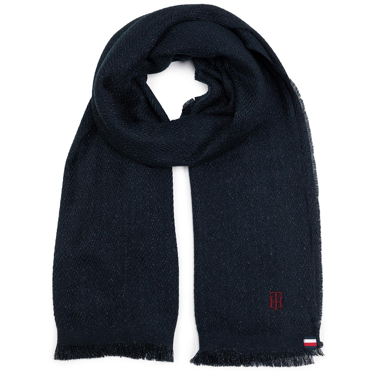 Fular TOMMY HILFIGER - Th Woven Blanket AW0AW07530 CJM