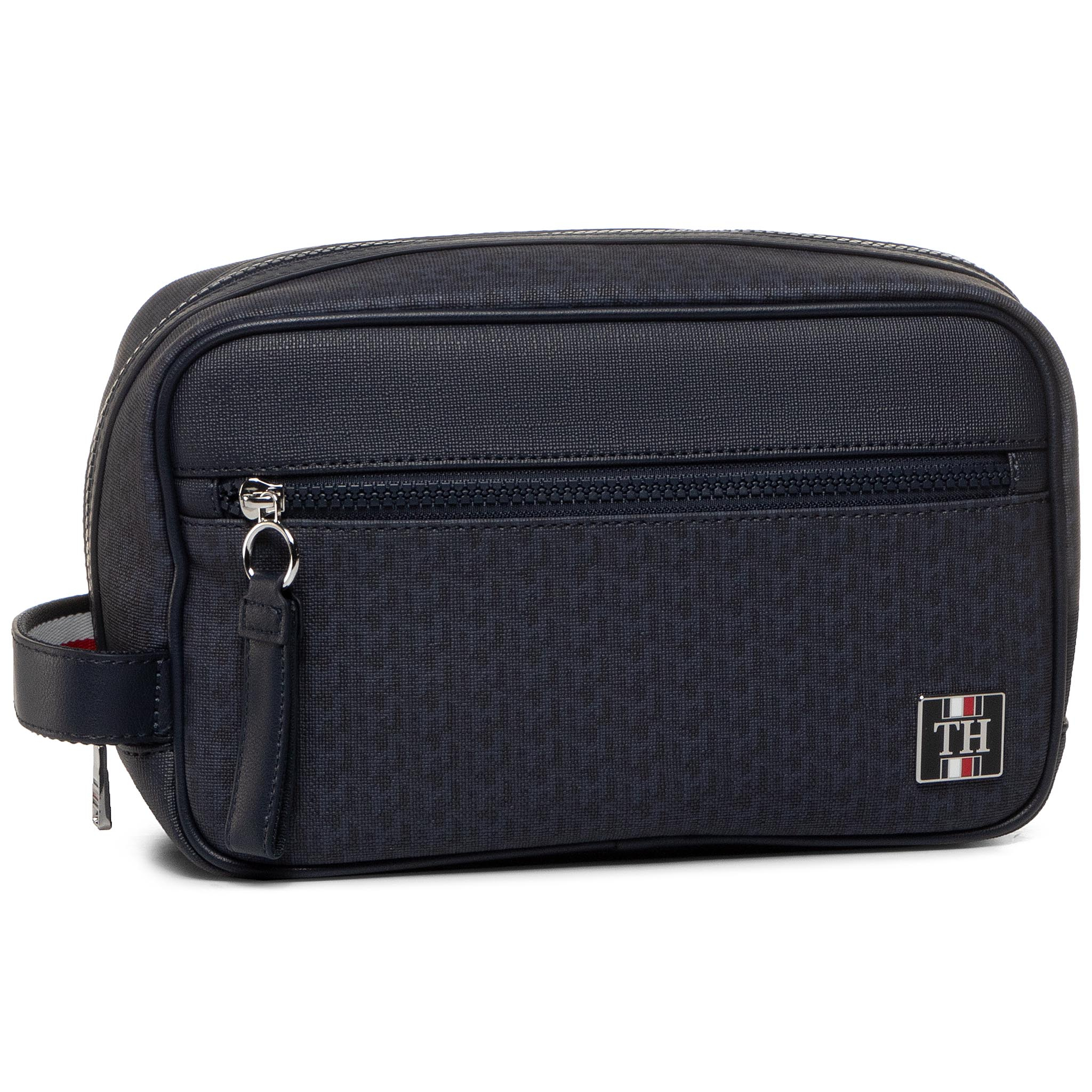 Geantă Pentru Cosmetice Tommy Hilfiger - Coated Canvas Washbag Am0am05659 0gy imagine epantofi.ro 2021