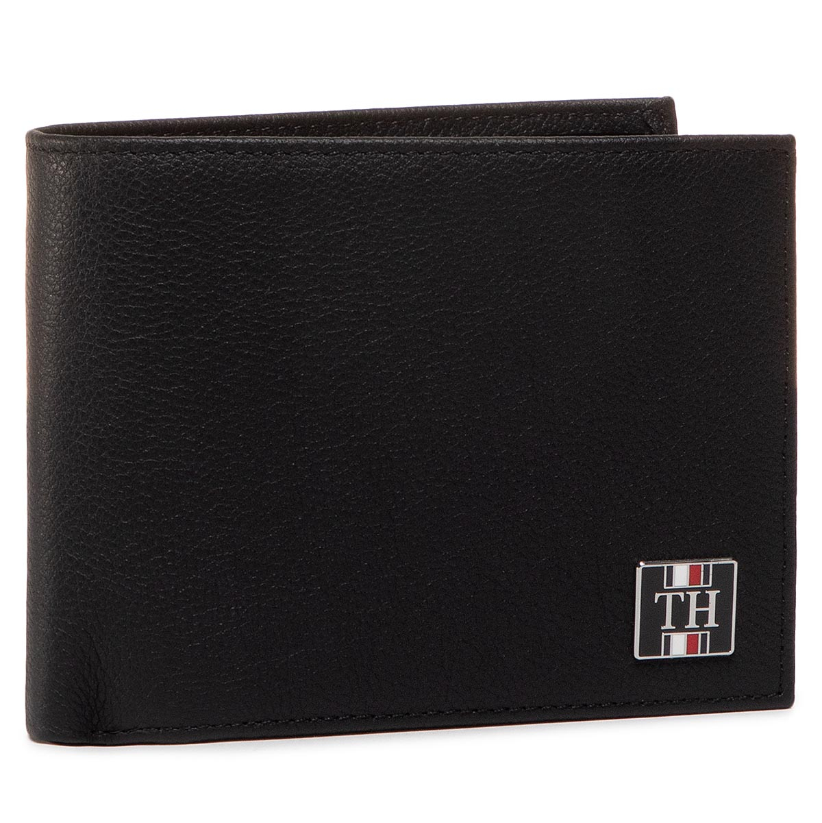 Portofel Mare pentru Bărbați TOMMY HILFIGER - Th Solid Cc Flap And Coin AM0AM05848 BDS