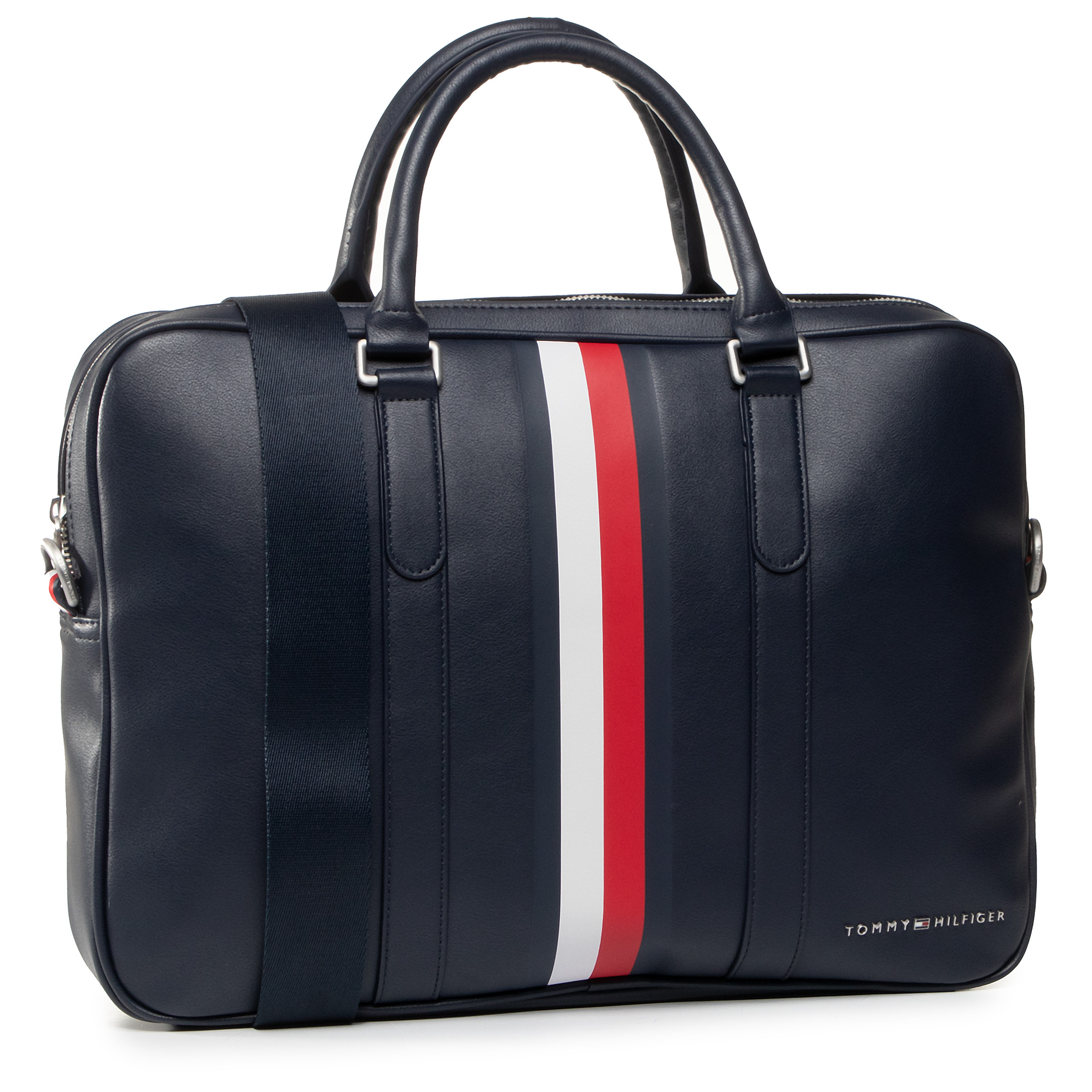 Geantă TOMMY HILFIGER - Th Metro Slim Computer Bag Corp CJM